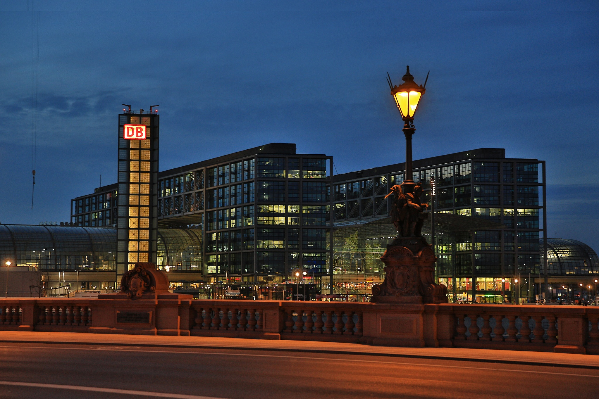 Central Evening in Berlin by DieBuben