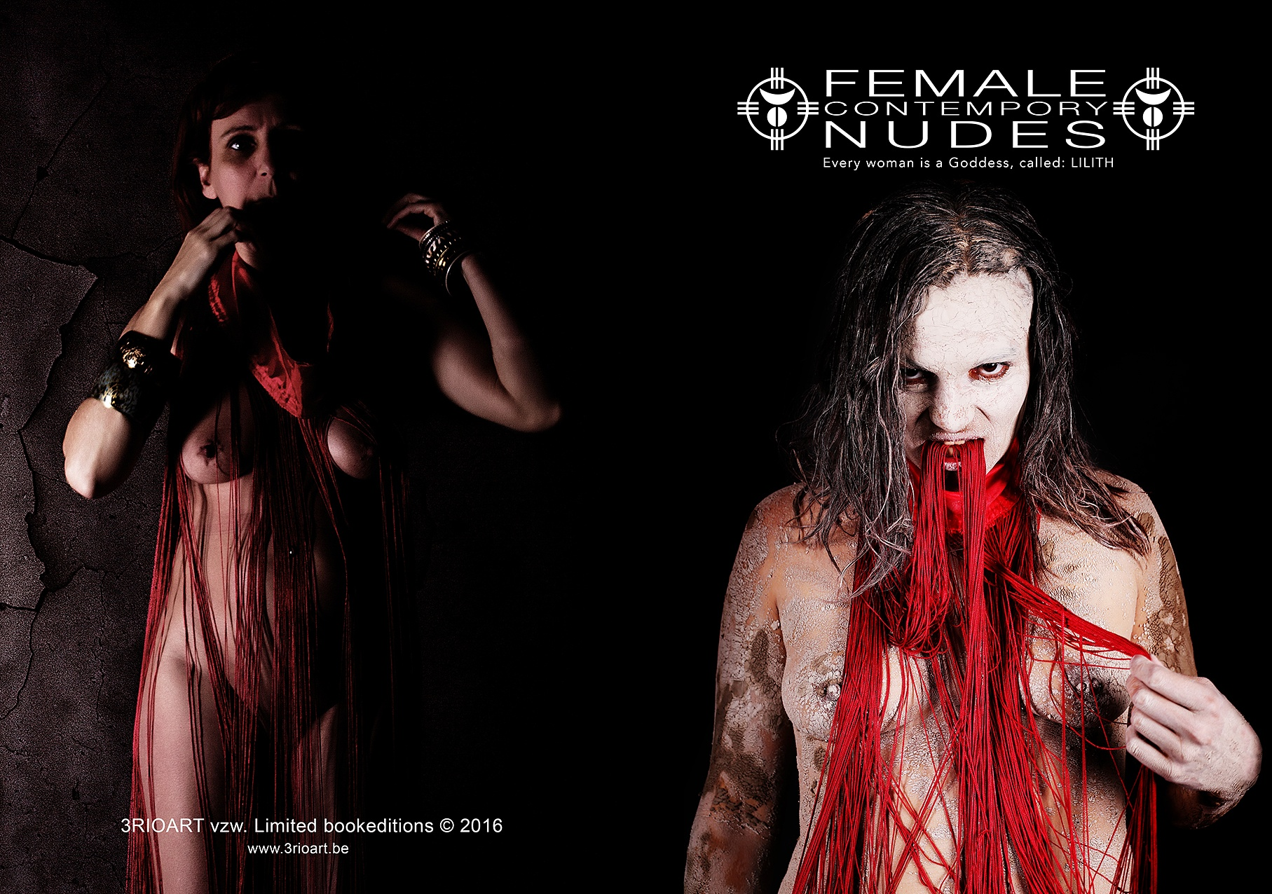 Contempory Female nudes BOOK release by Hybryds