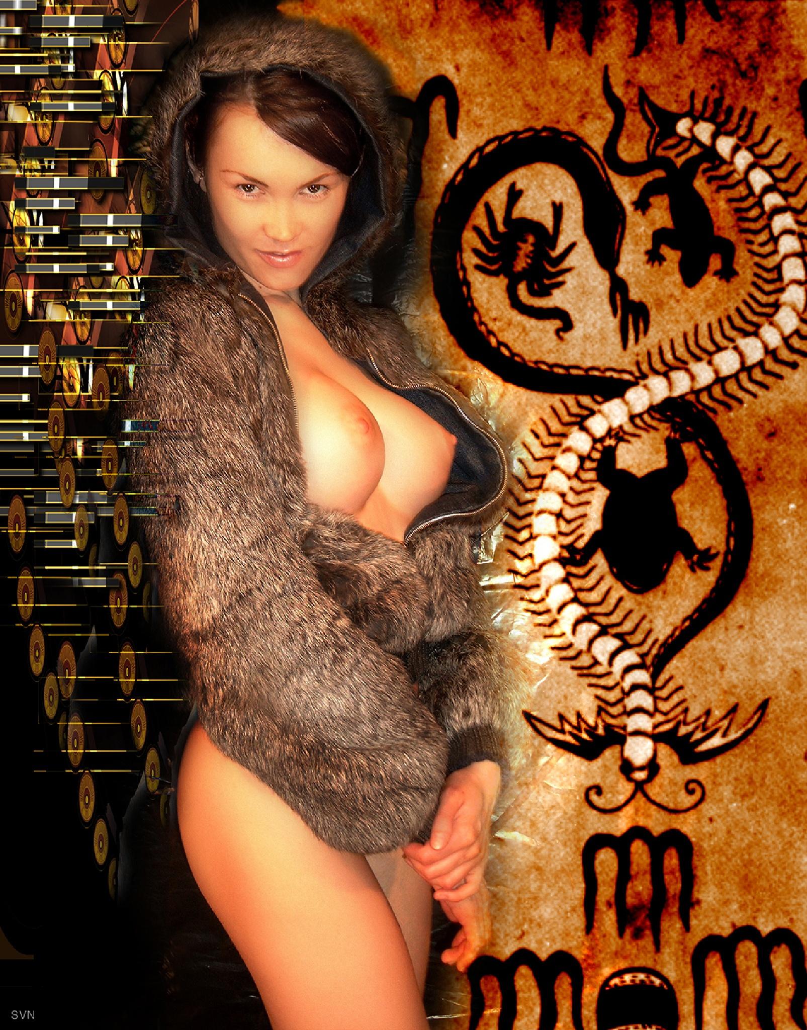 Kim in fur by Hybryds