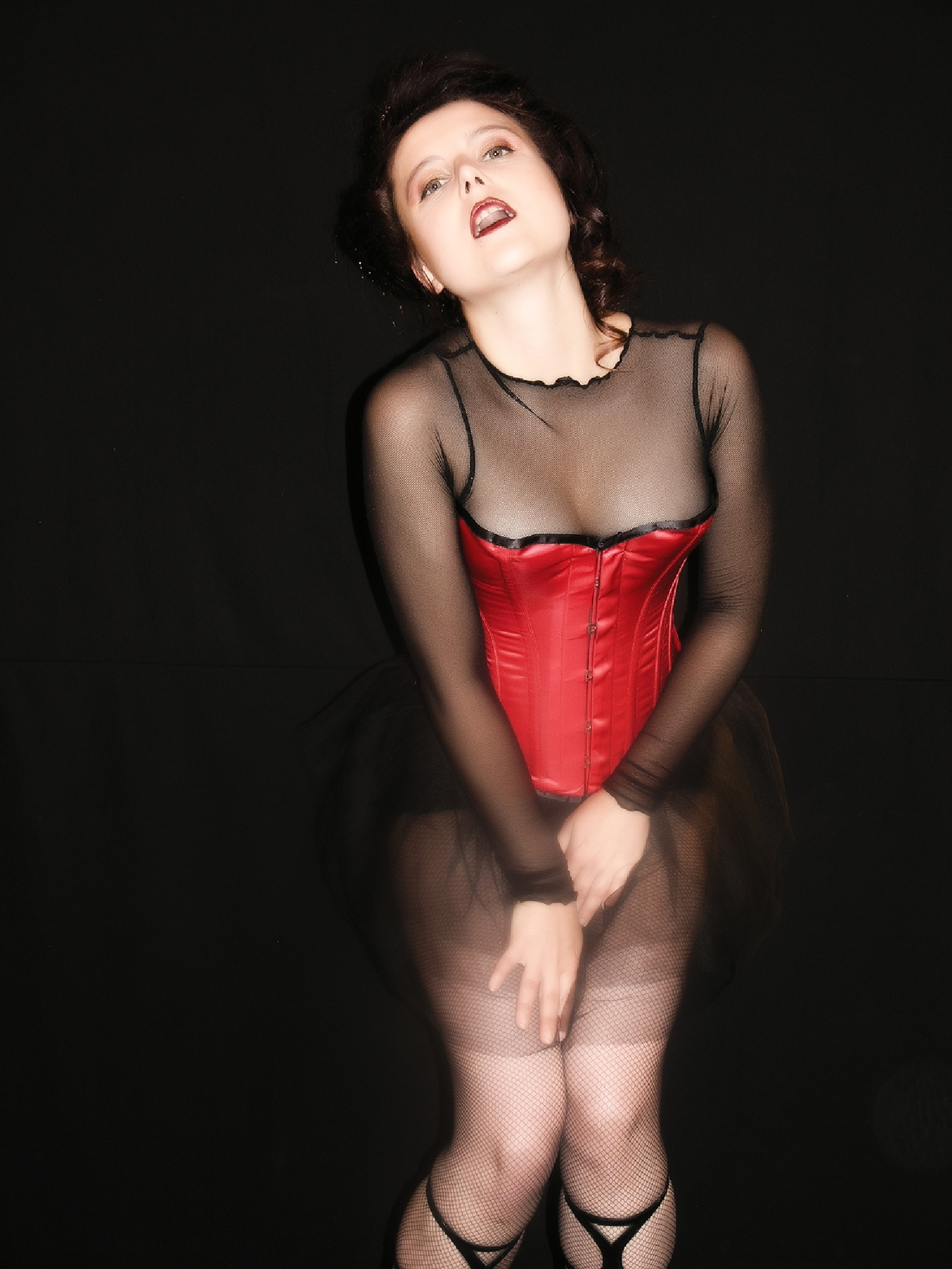 red corset girl 2 by Hybryds