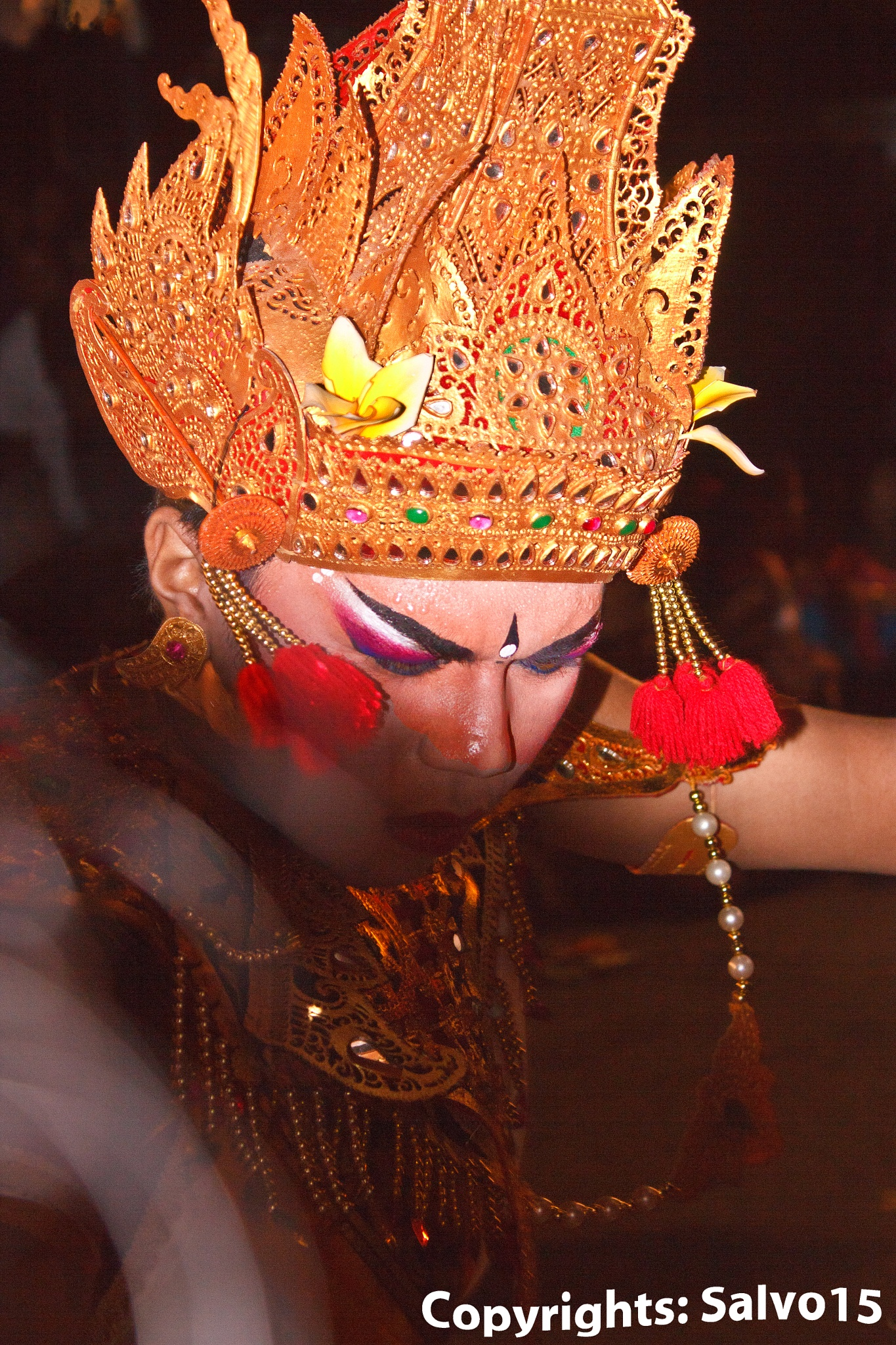 The Barong Dancer by Salvo