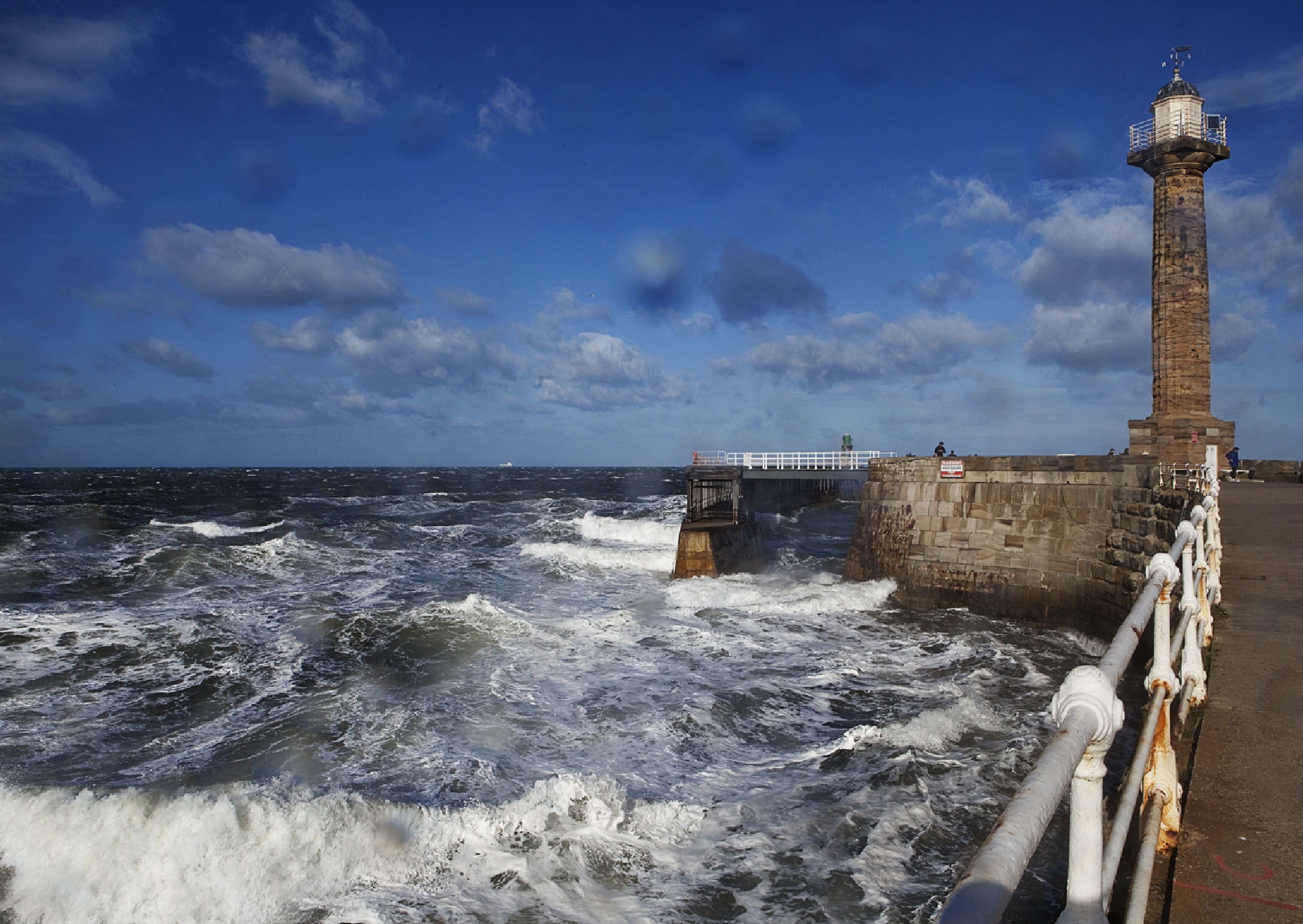 Windy Day in Whitby by JaneCampbell21