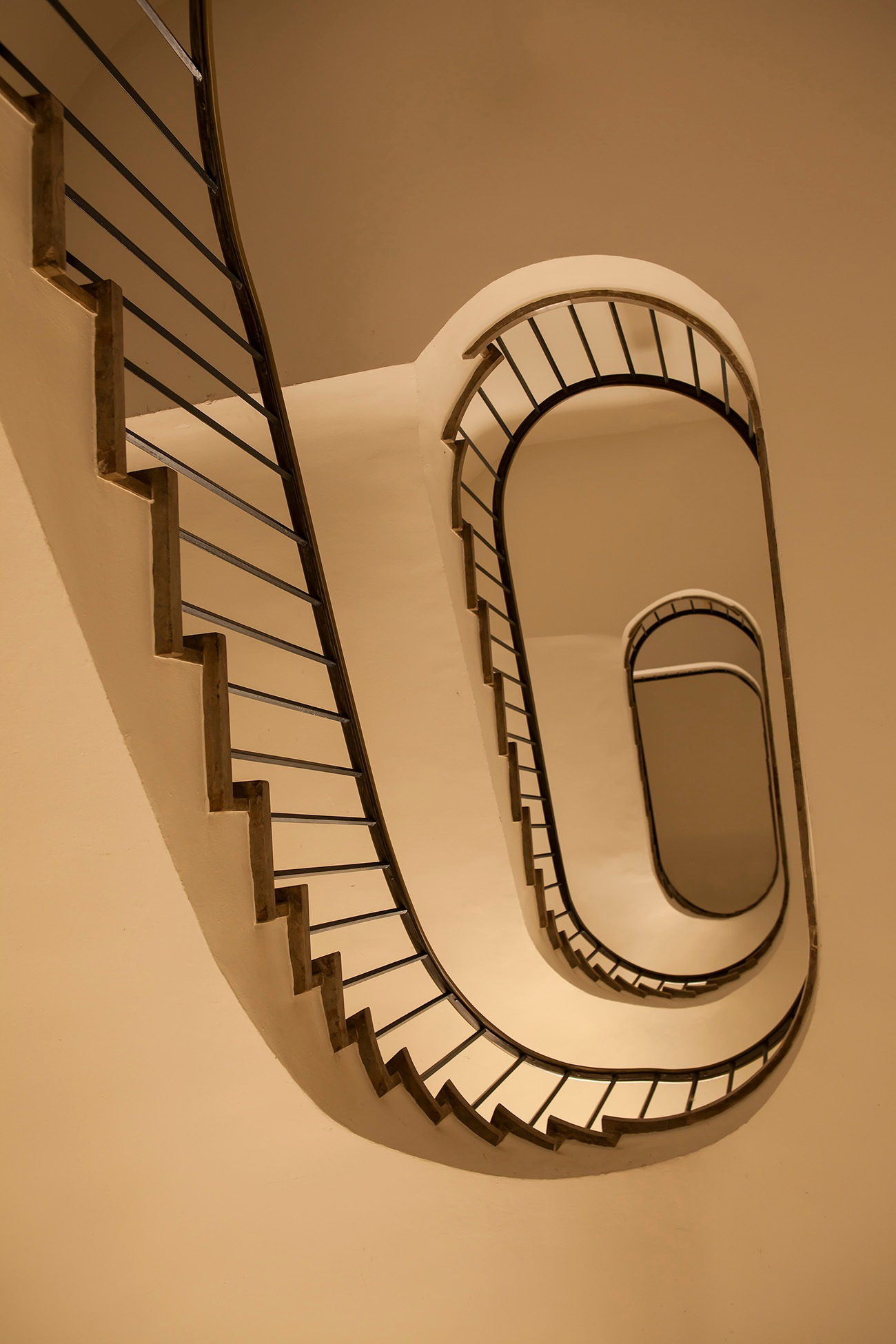 Swirling stairs by JaneCampbell21