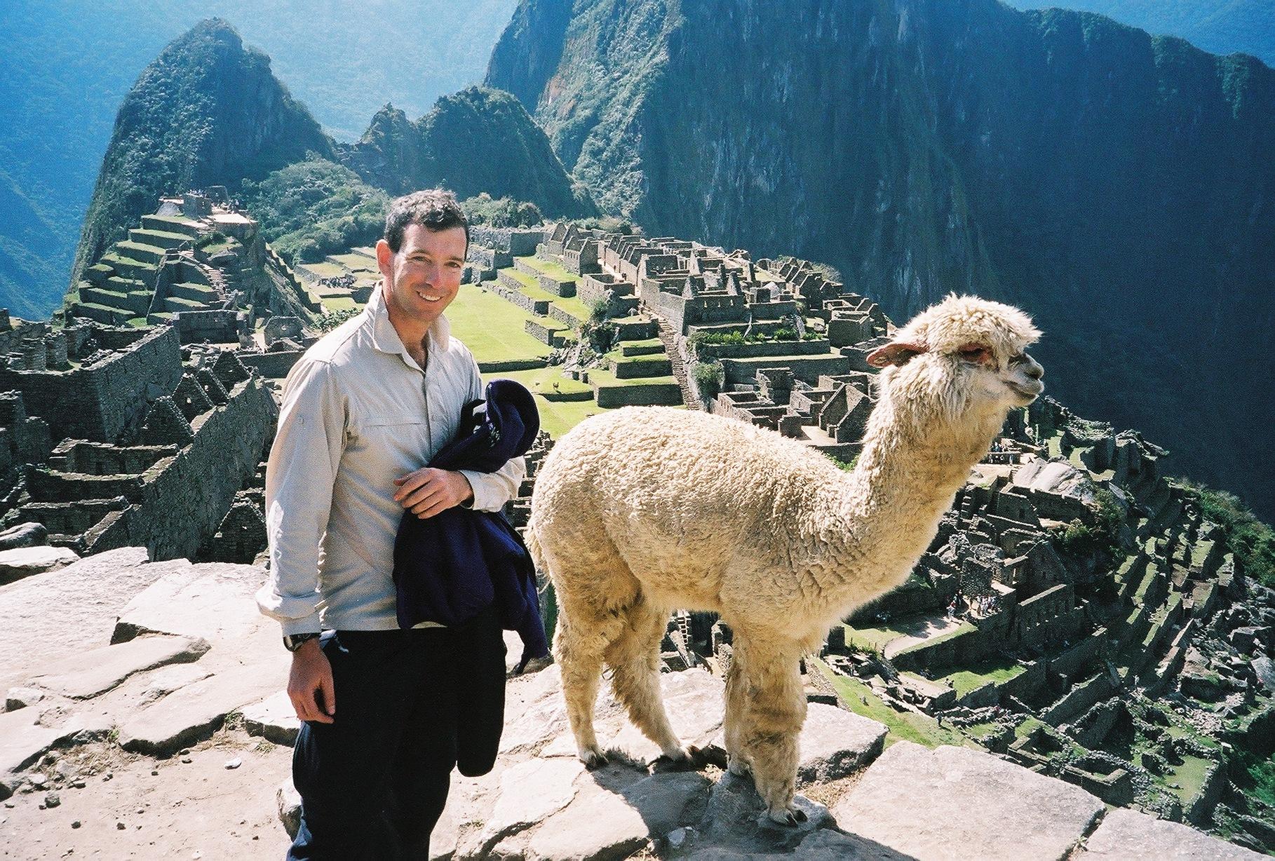 Machu Piccu by Nathaniel Smelser