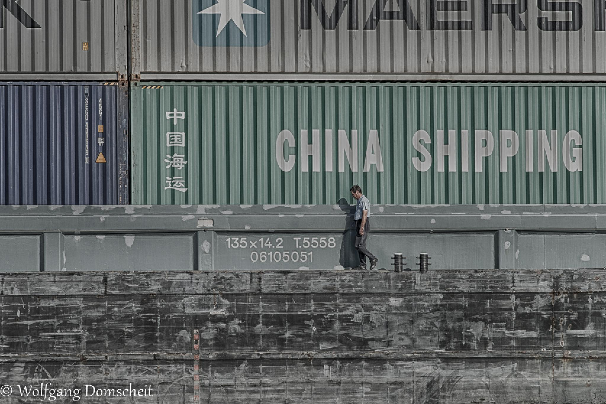 China Shipping by wolfdomscheit
