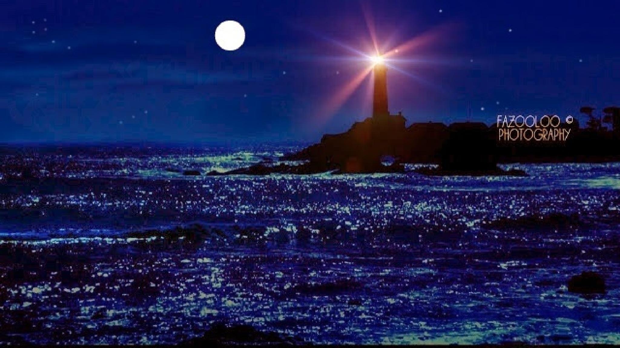 East Coast,  Lighthouse.  by fazooloo