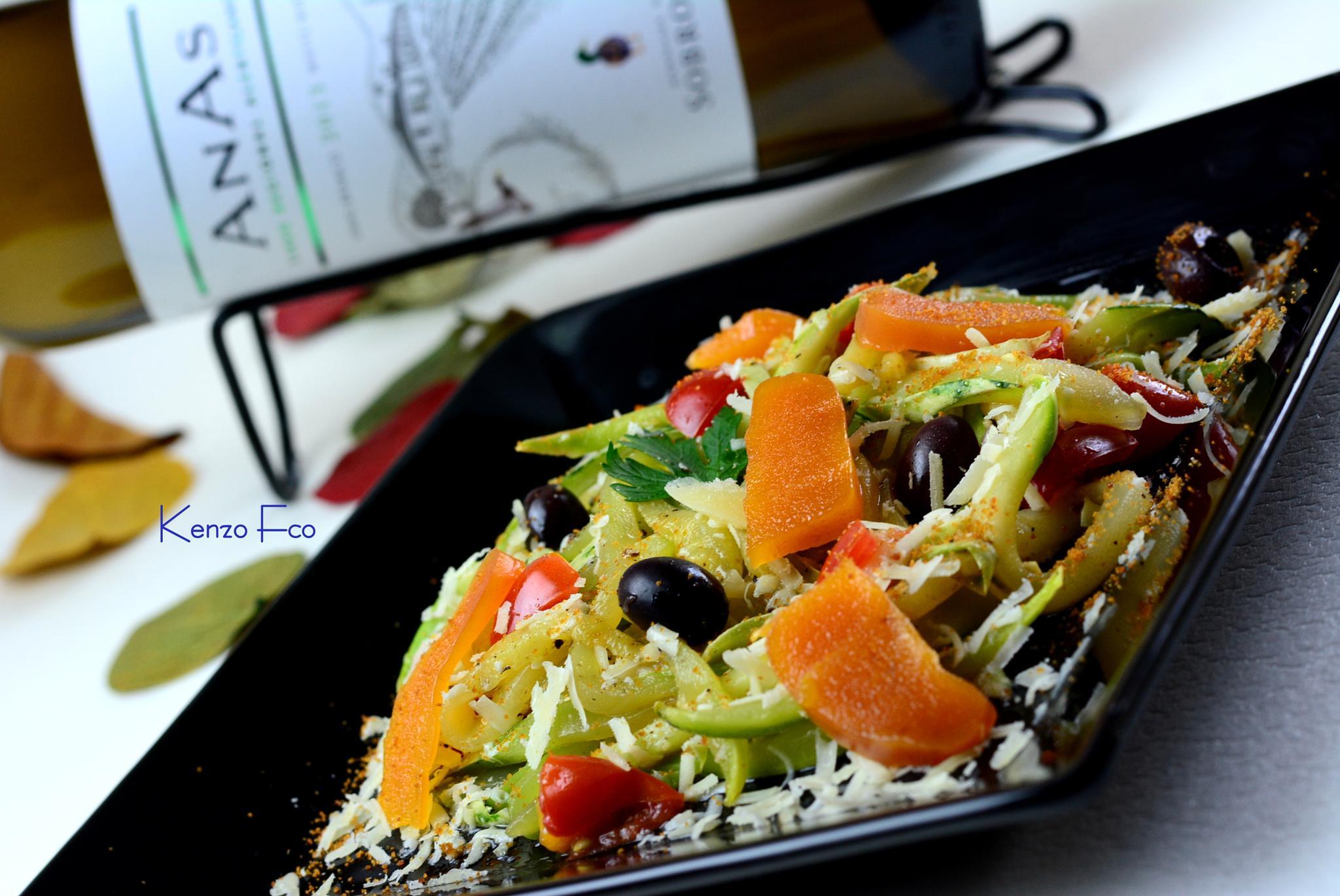 Talharim de zucchini by Kenzo