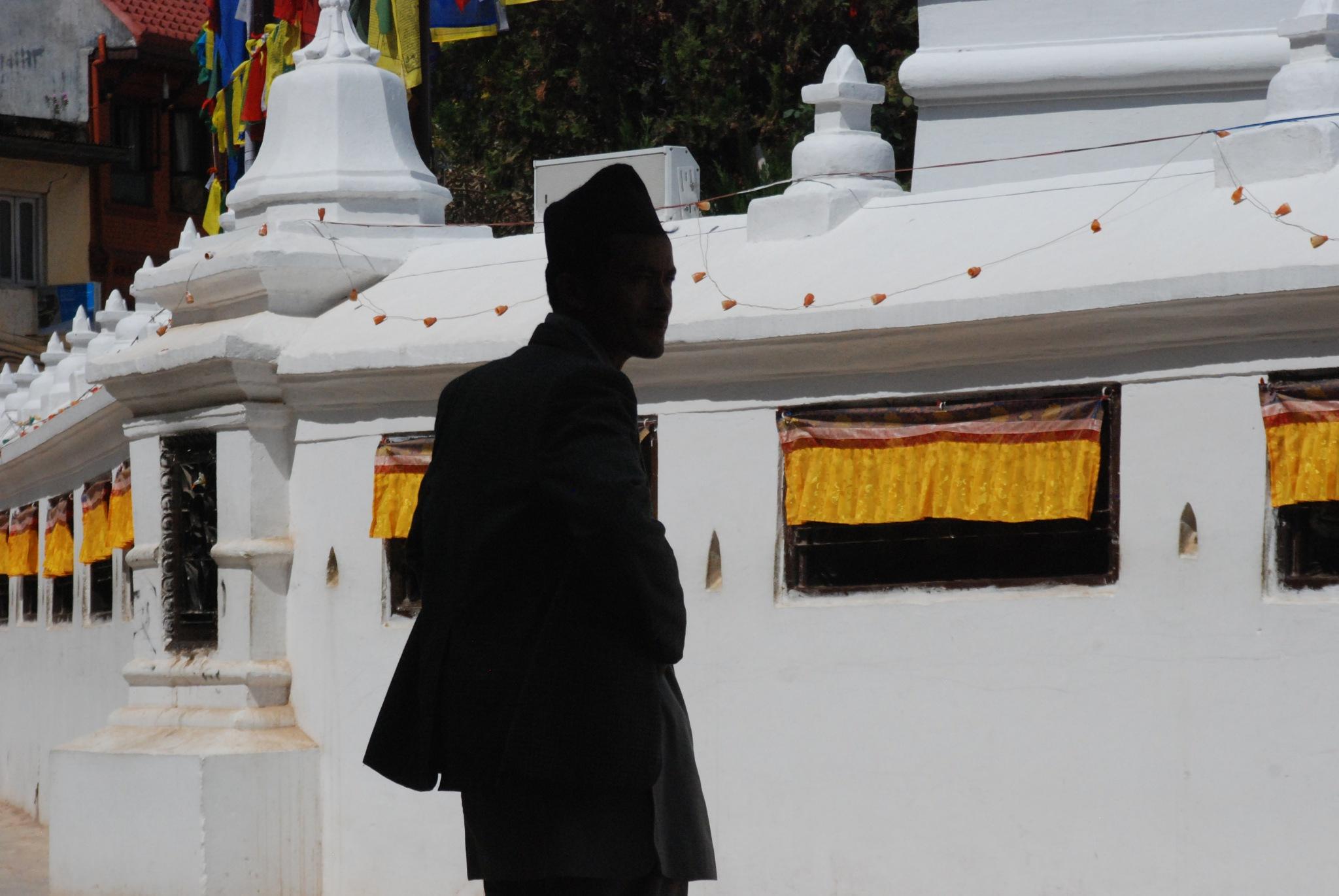 Moments in Bouddha Nath by veneeta singha