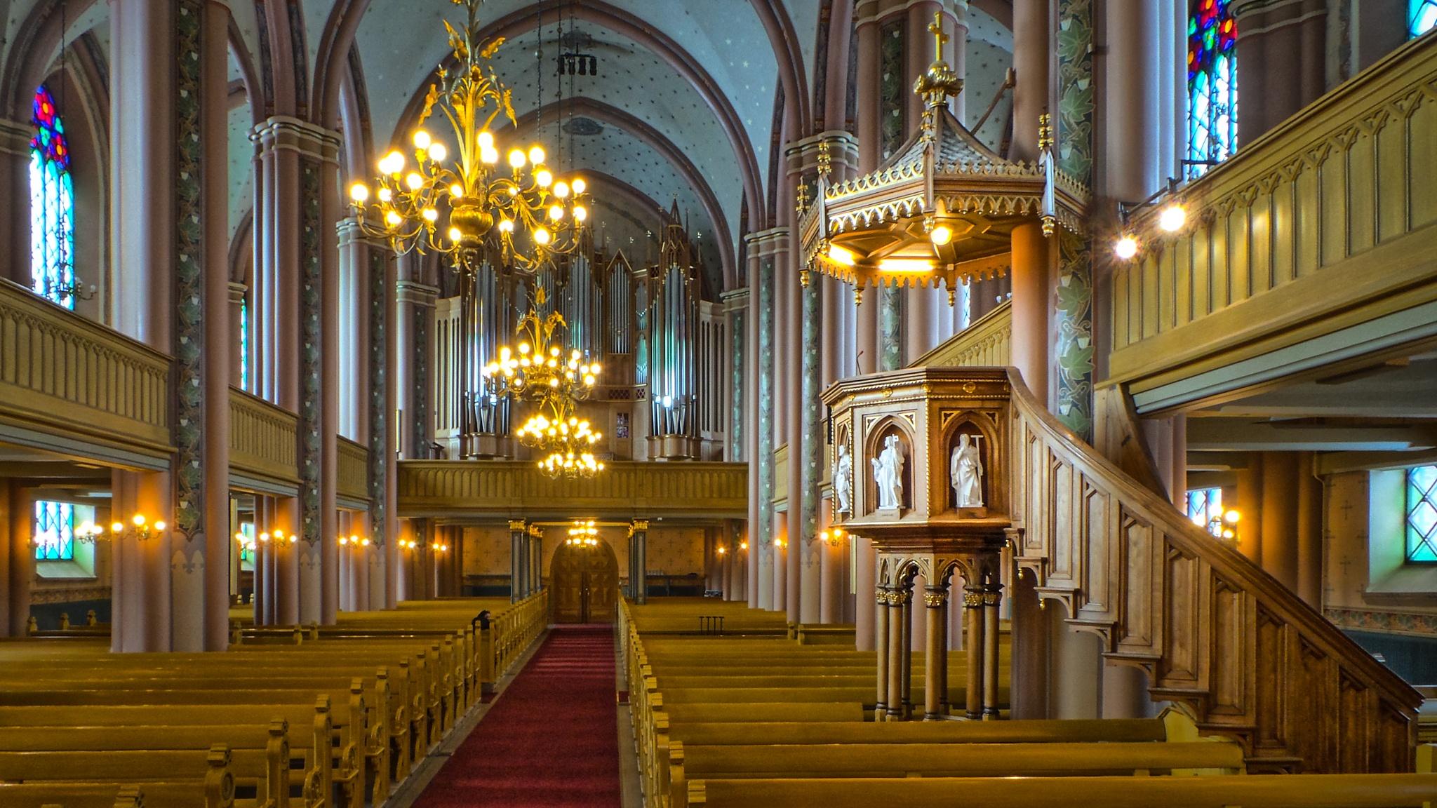 Central Pori Church by Karographix