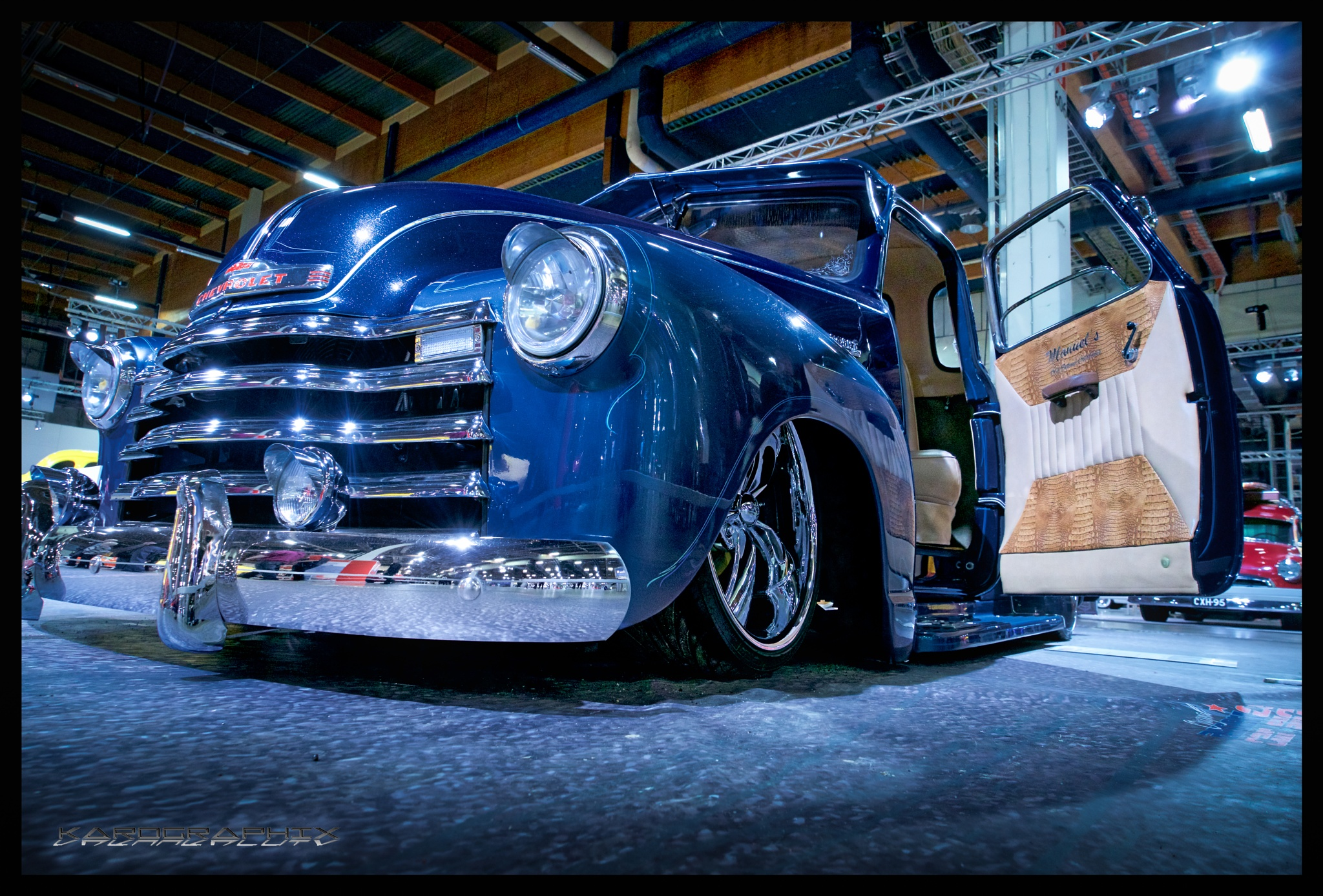 Chevy pick up from 50's by Karographix