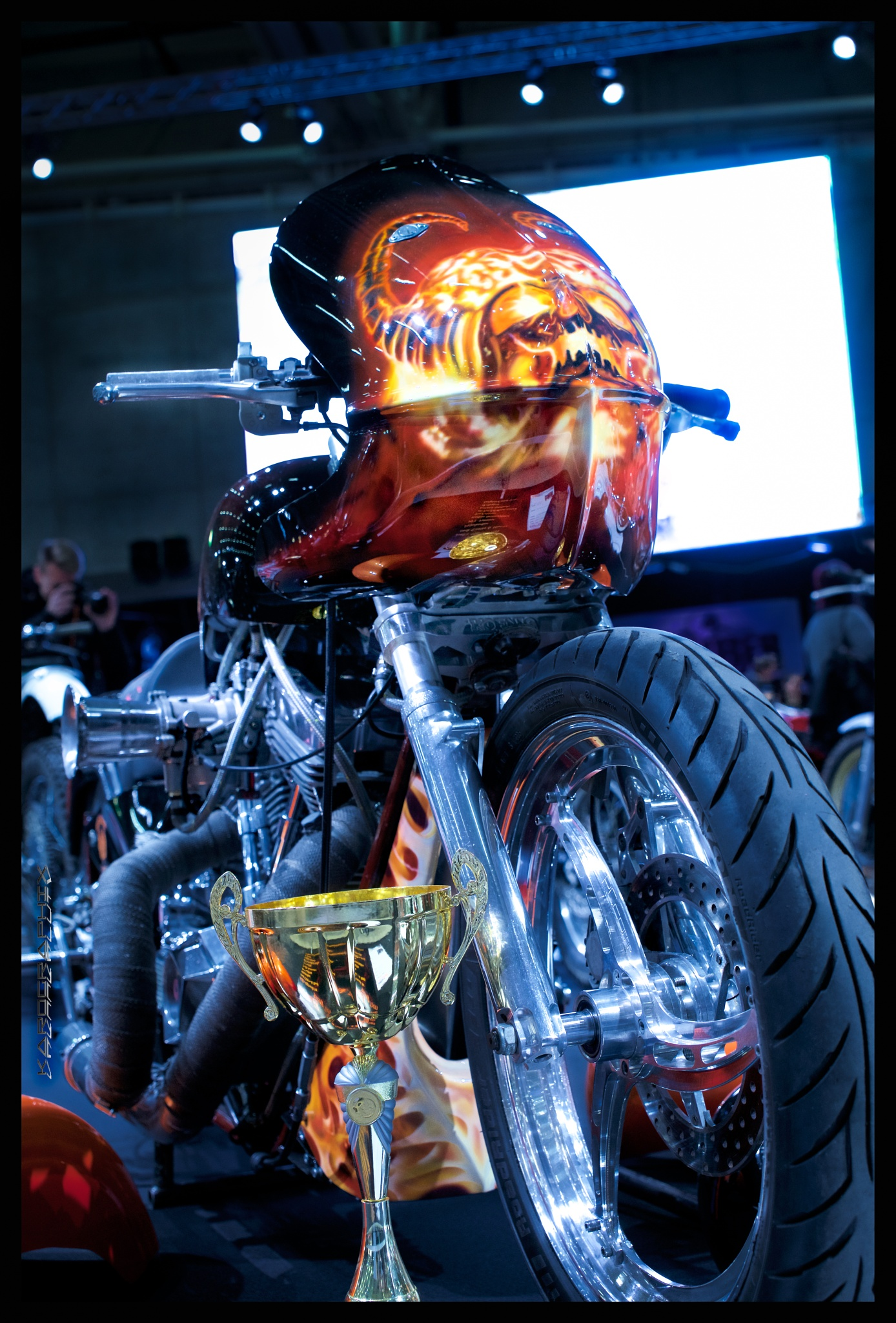 Demon bike by Karographix
