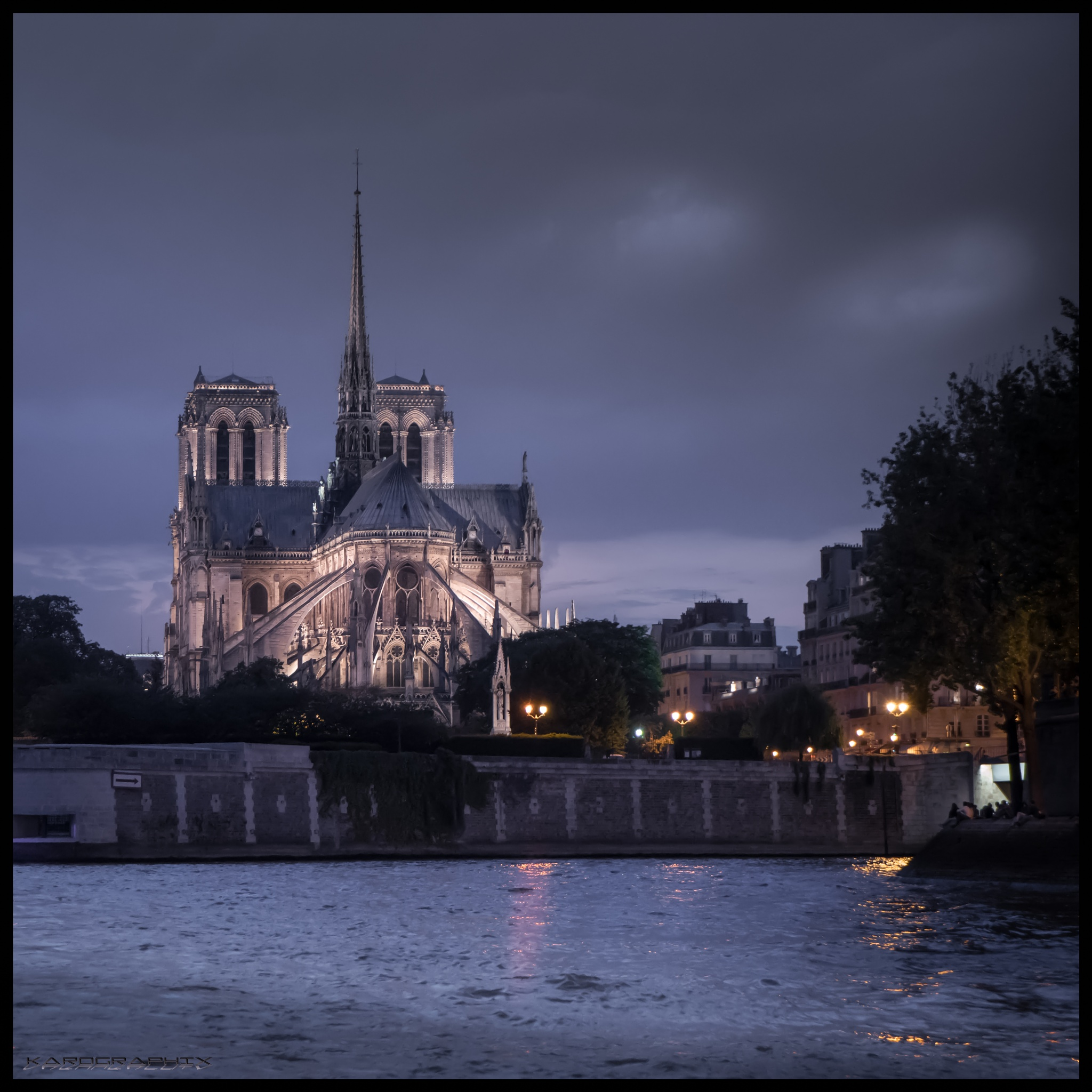 Photo in Architecture #notre dame #cathedral #paris #france #europe #tracel #travel #architecture #building #cathedrals #river