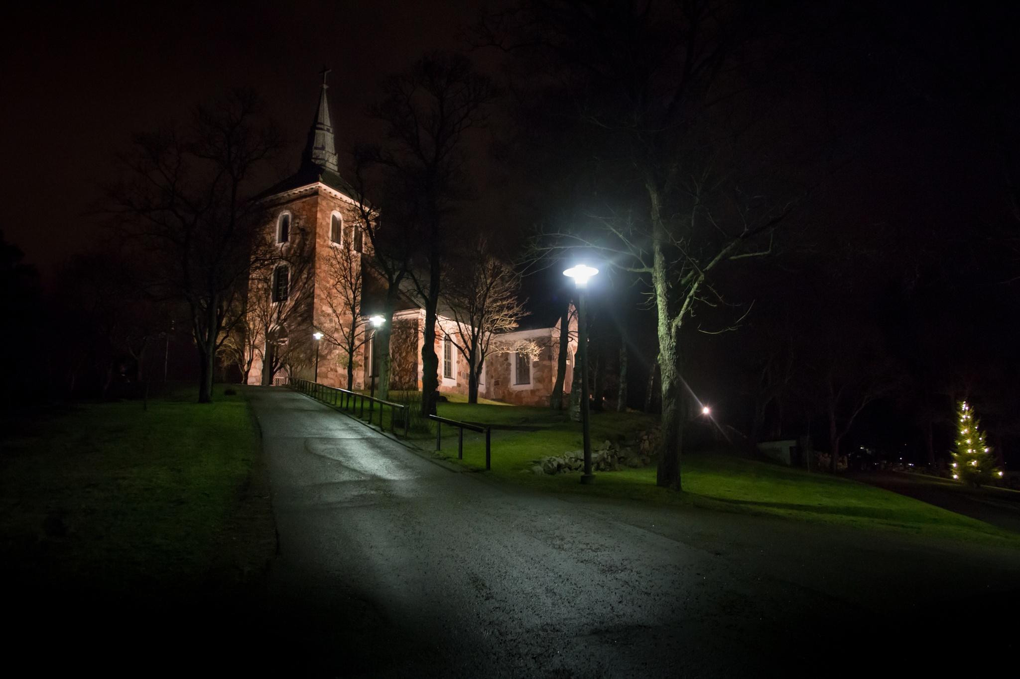 Salo-Uskela church by Karographix
