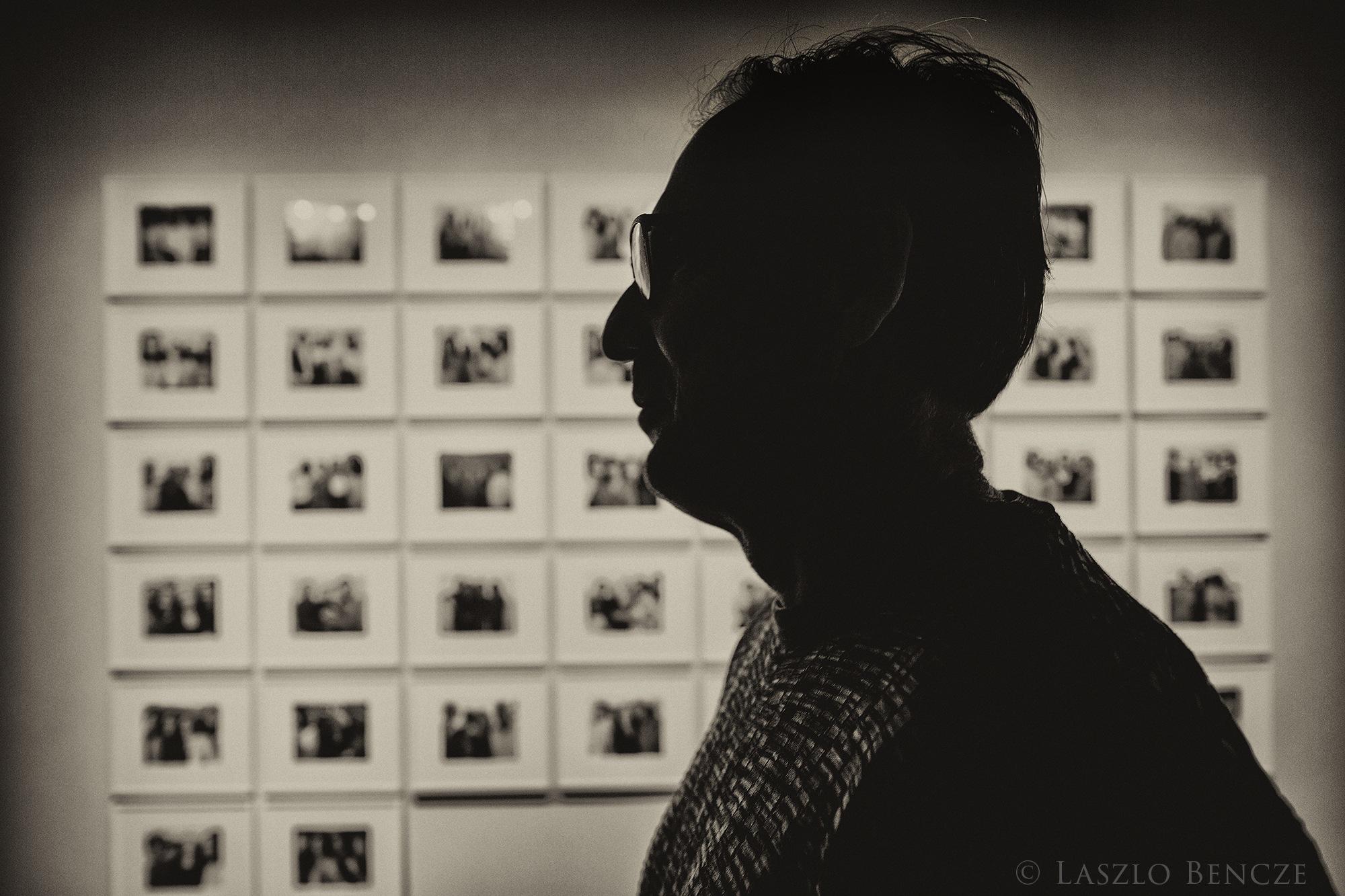 David in Pier 21 Museum by Laszlo Bencze