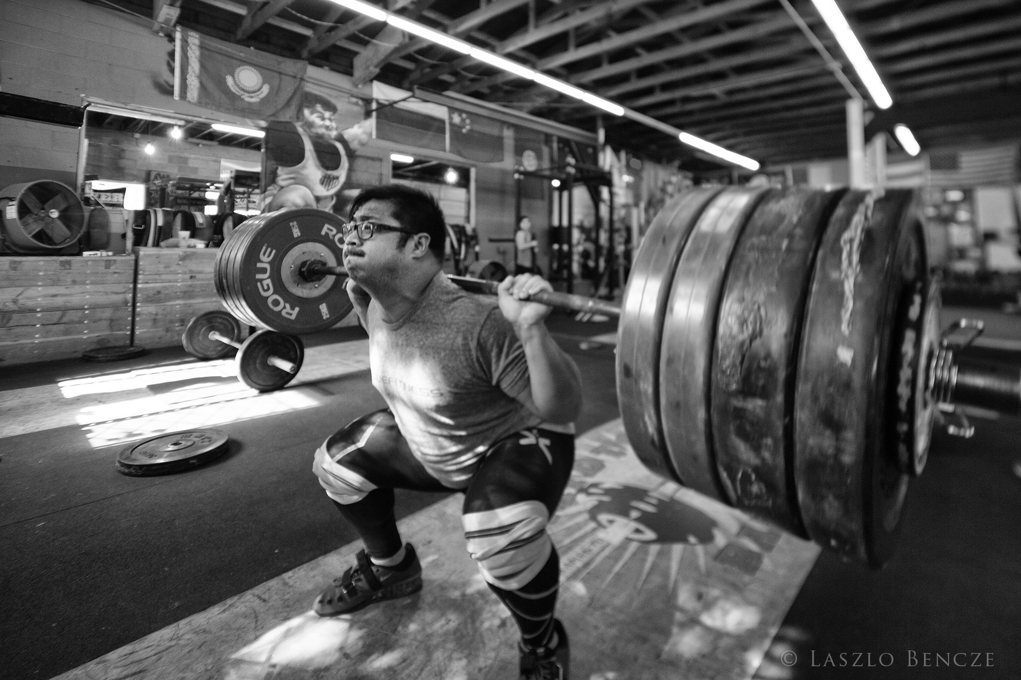 Weightlifting #3 by Laszlo Bencze