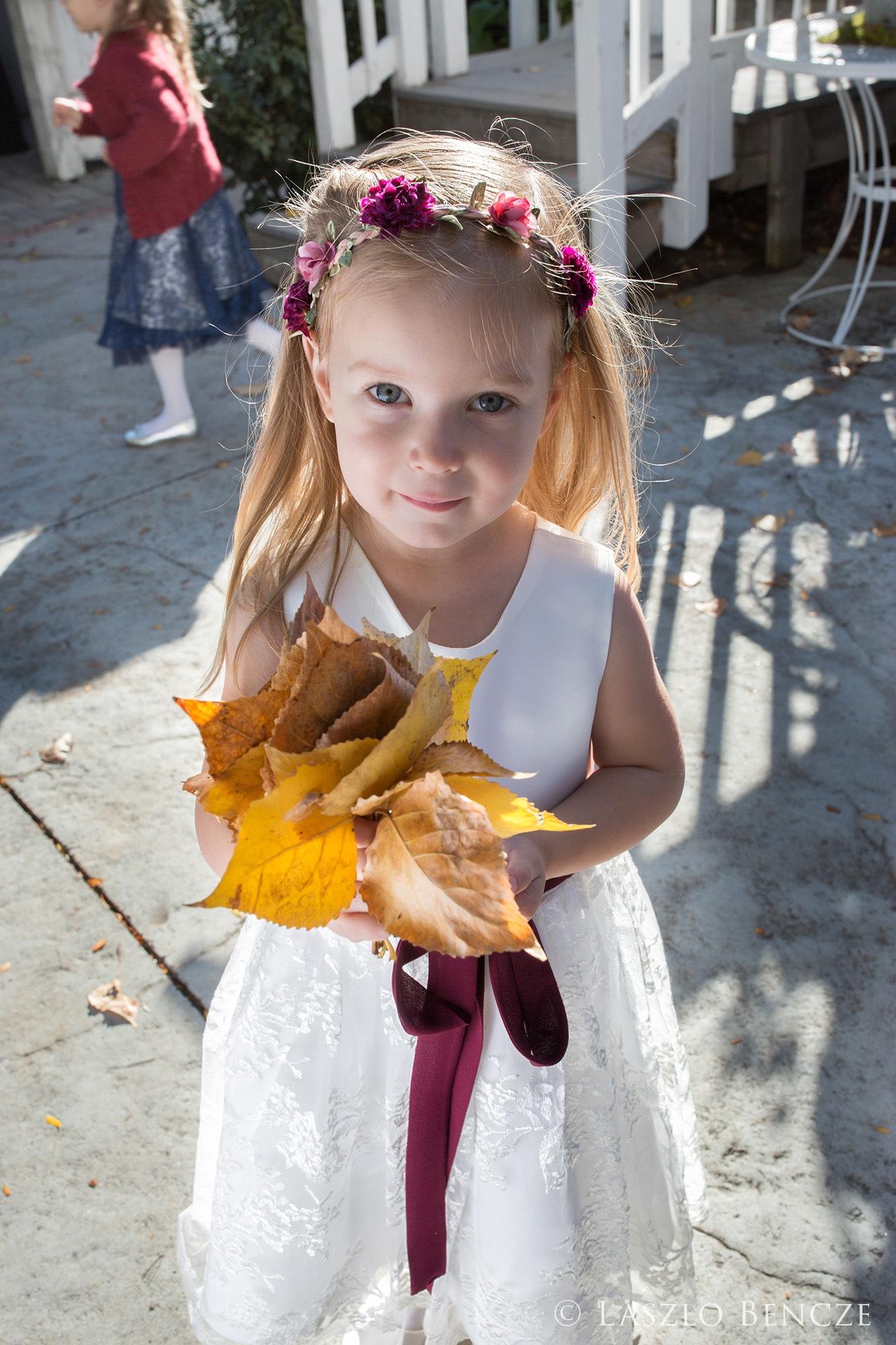 Wedding, #19 Flower Girl by Laszlo Bencze