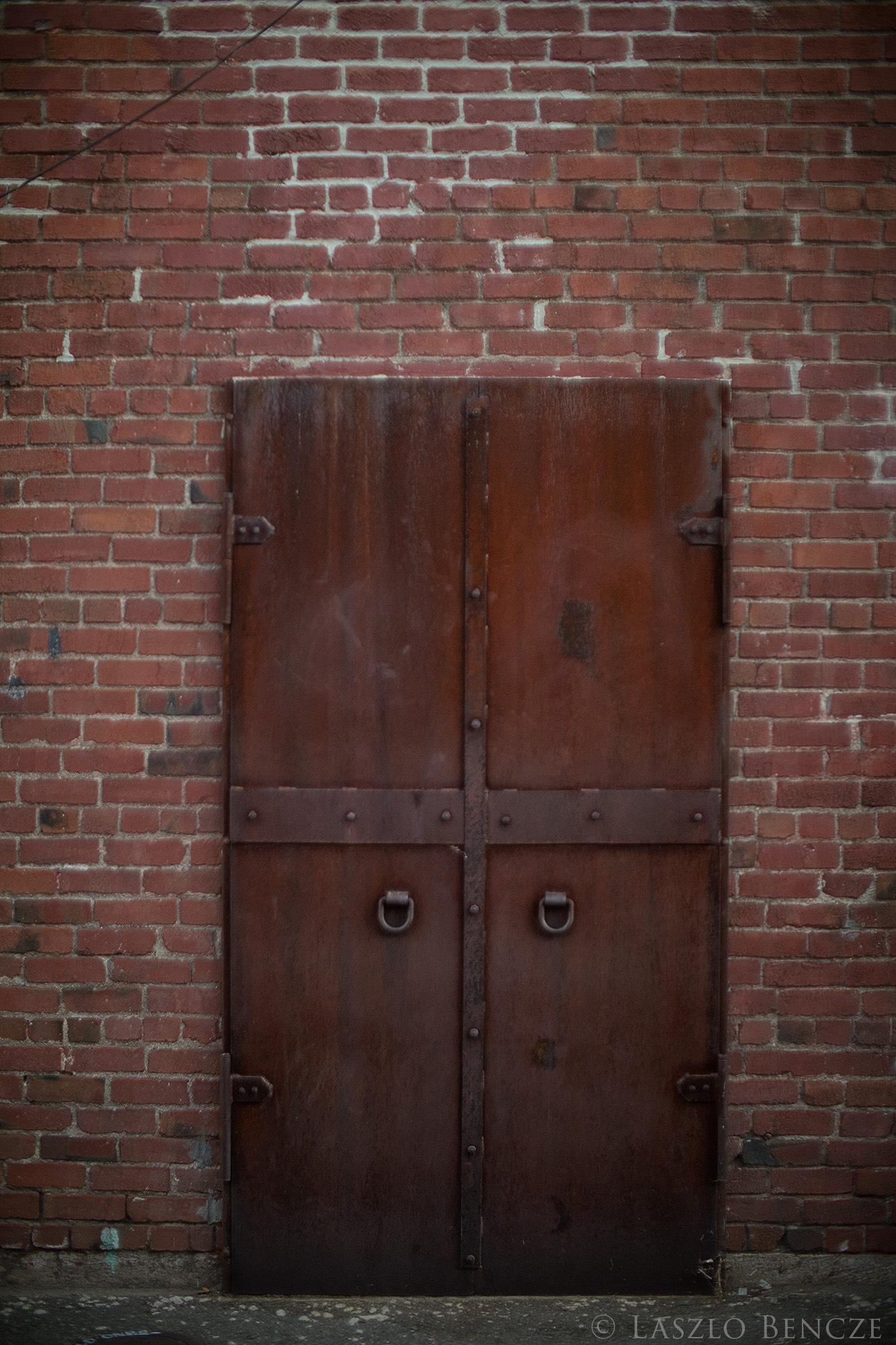 Old Roseville #19, Iron Door, Project f1.0 by Laszlo Bencze
