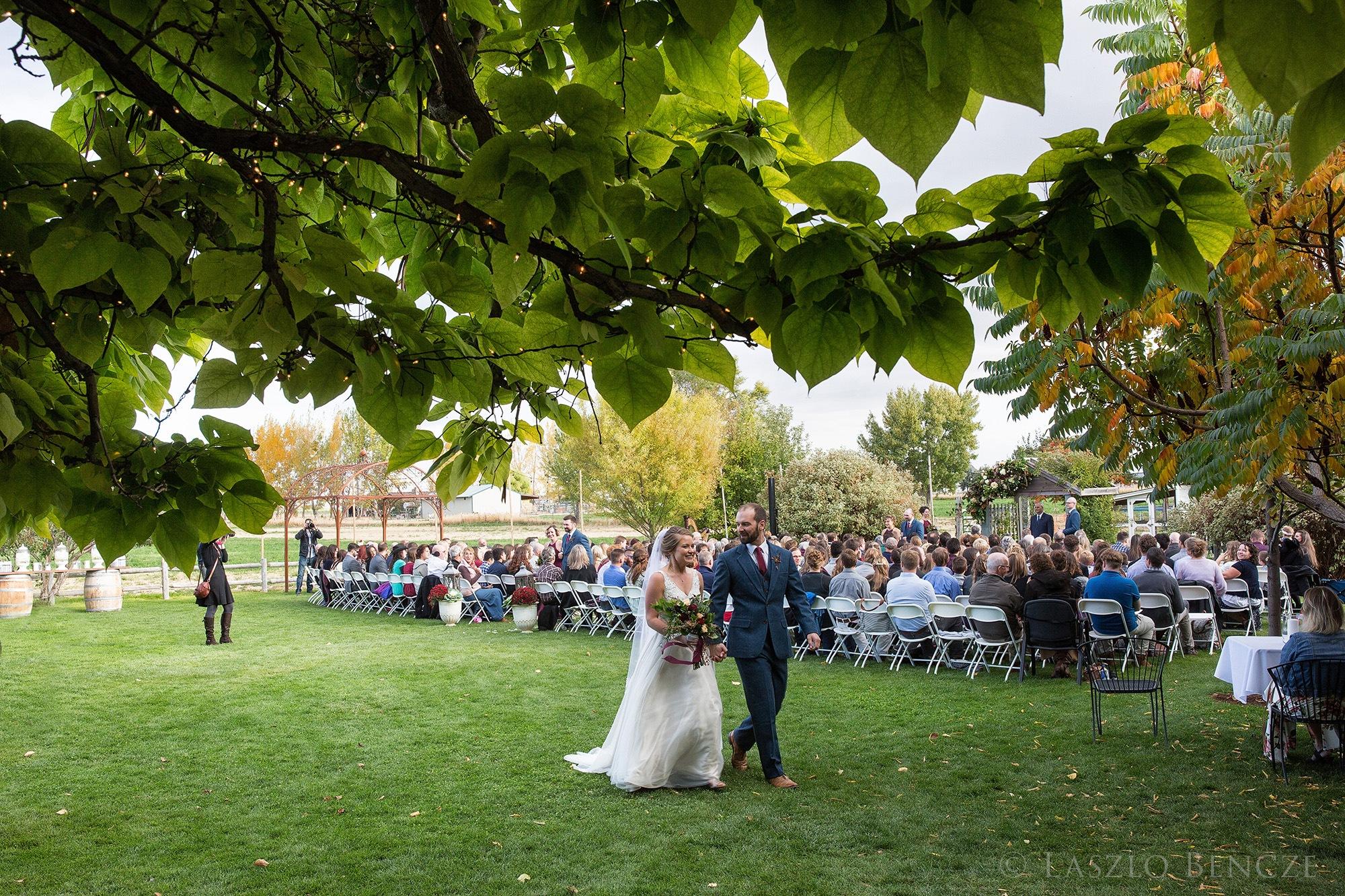 Wedding, #21 Post Ceremony Procession by Laszlo Bencze
