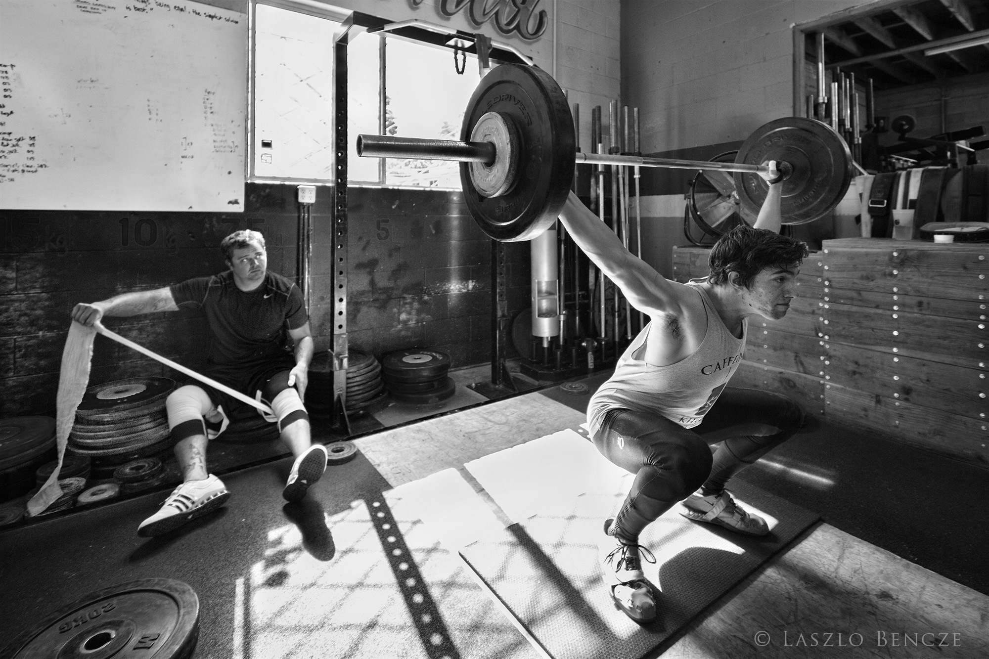 Weightlifting #1 by Laszlo Bencze