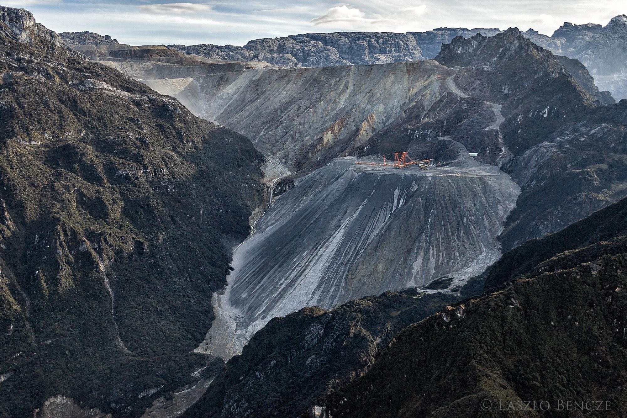 Grasberg Mine by Laszlo Bencze