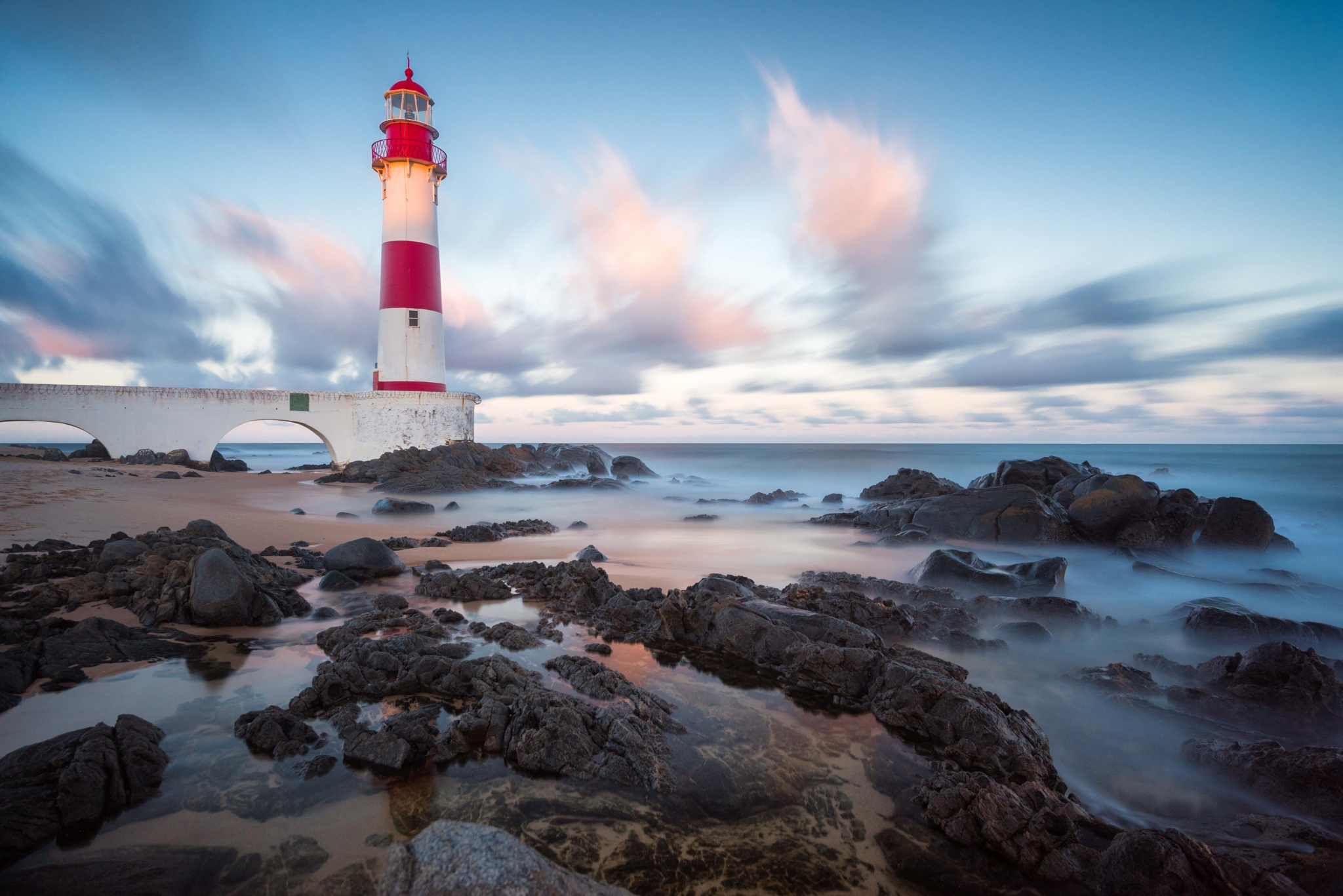 Farol de Itapuã - Salvador - Long Exposure by Uiler Costa