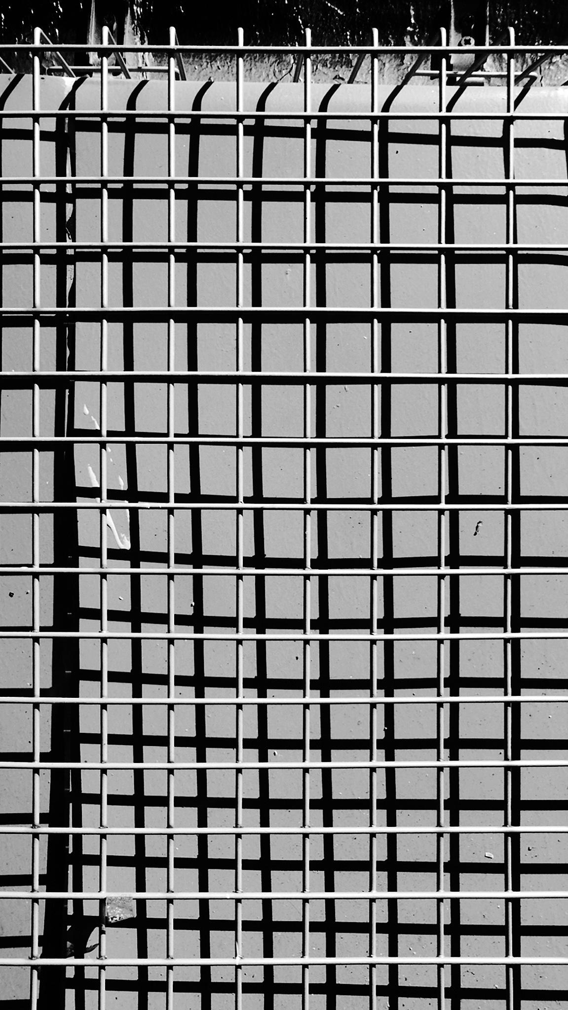 Grid shadow by Gernot Schwarz