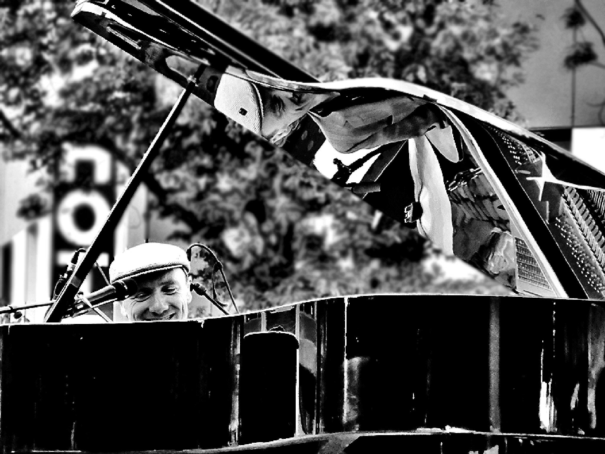 Piano player by Gernot Schwarz