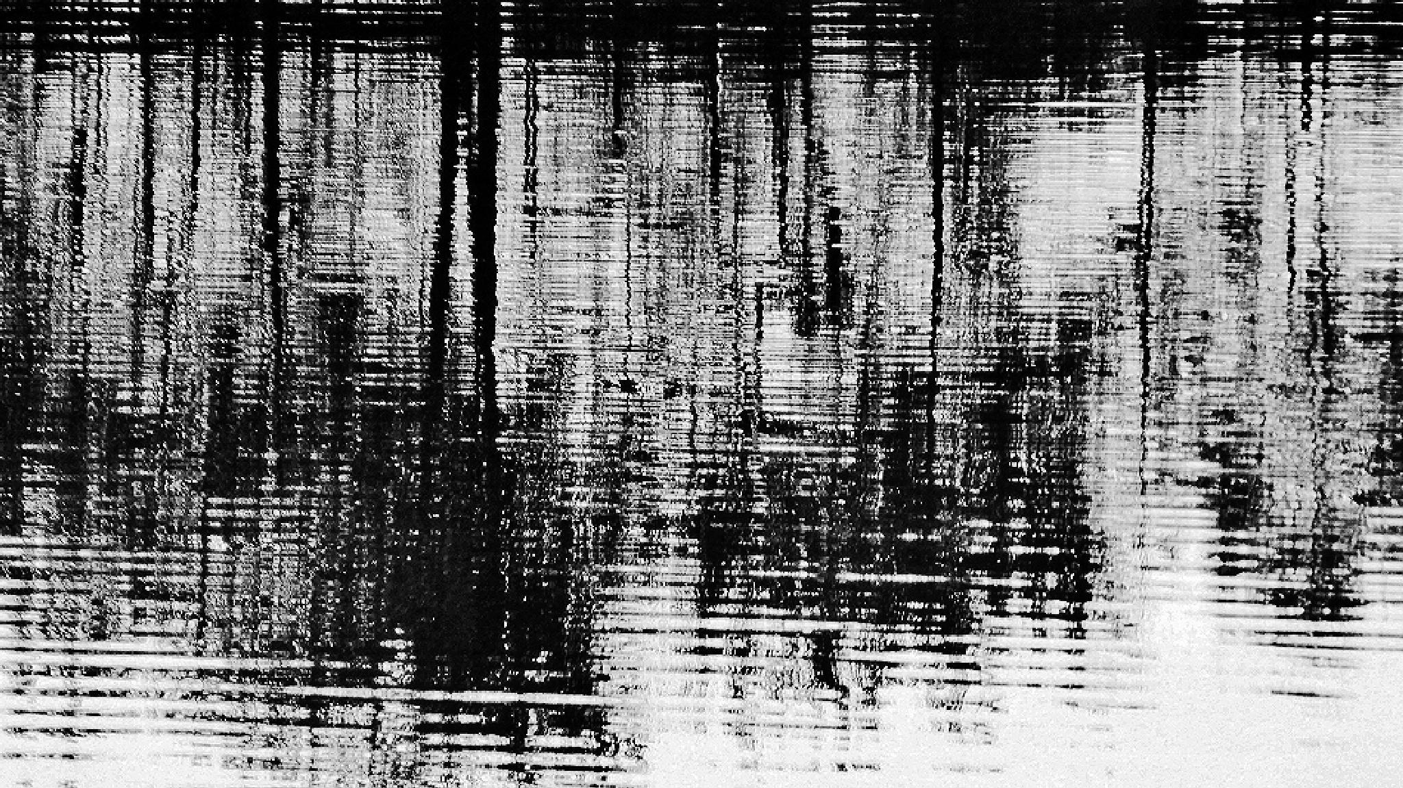 Reflection bw by Gernot Schwarz
