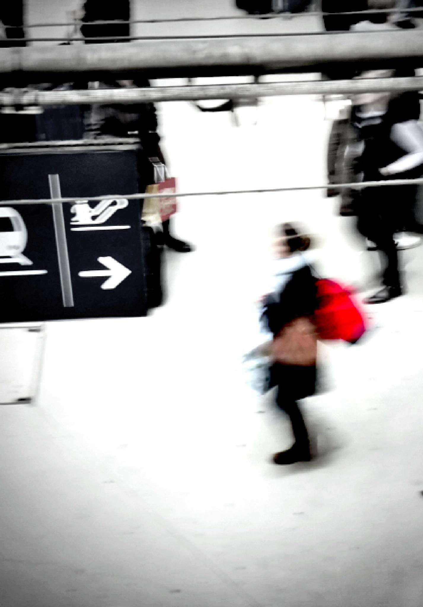 Paris, Gare du Nord by Gernot Schwarz