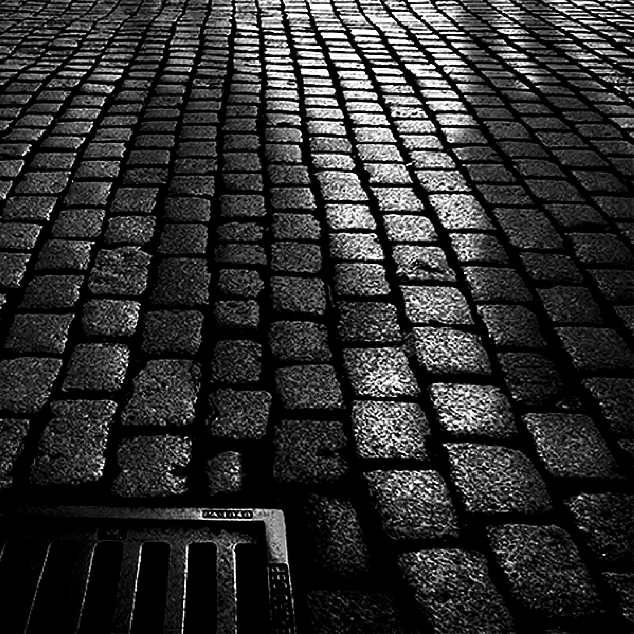 Street with shadows by Gernot Schwarz