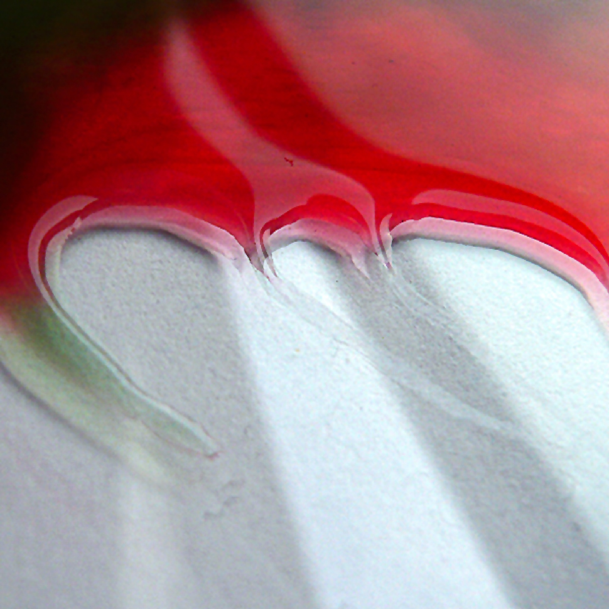 Abstract red by Gernot Schwarz