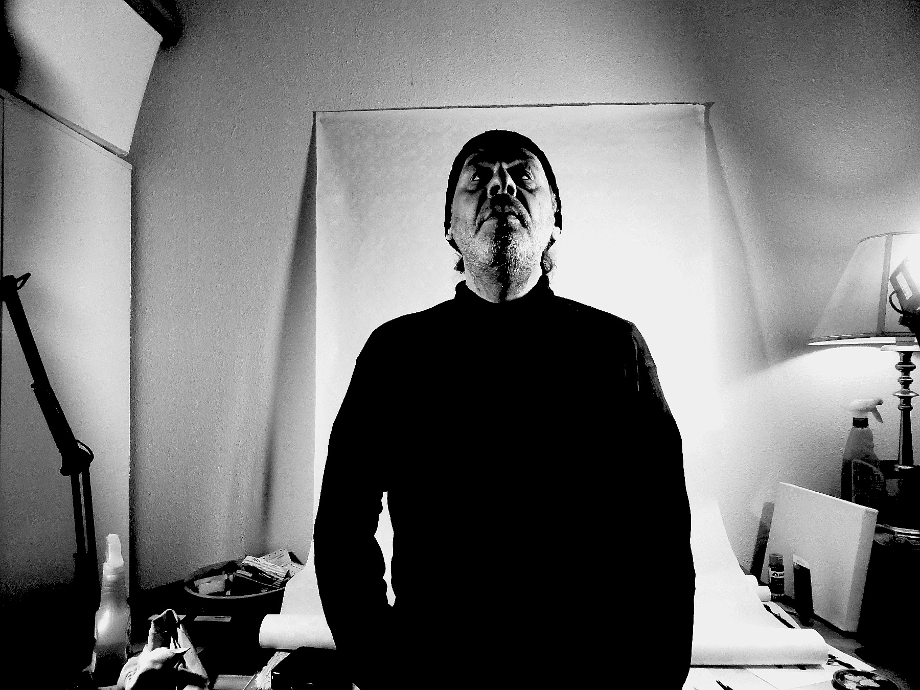 Self in my studio by Gernot Schwarz