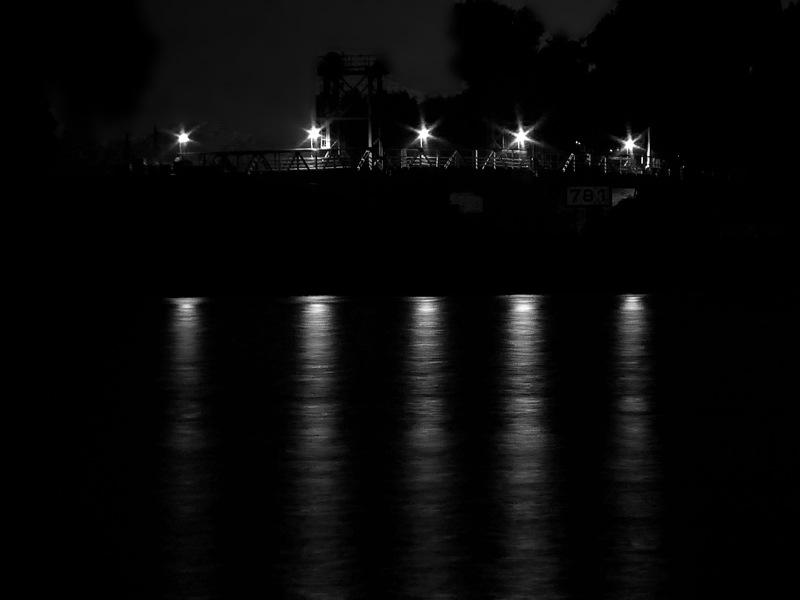 Night reflections by Gernot Schwarz