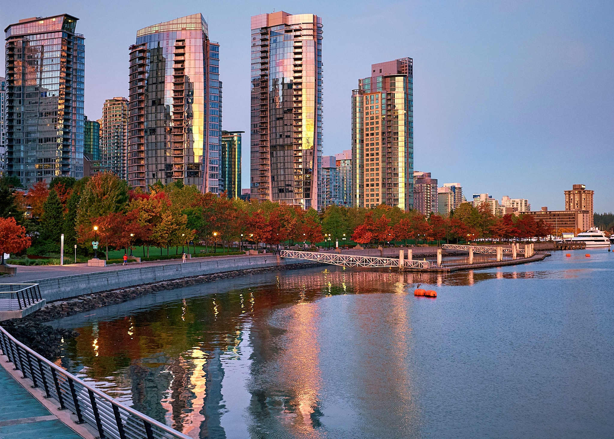 Coal Harbour, Vancouver, BC by Greg Mullaly