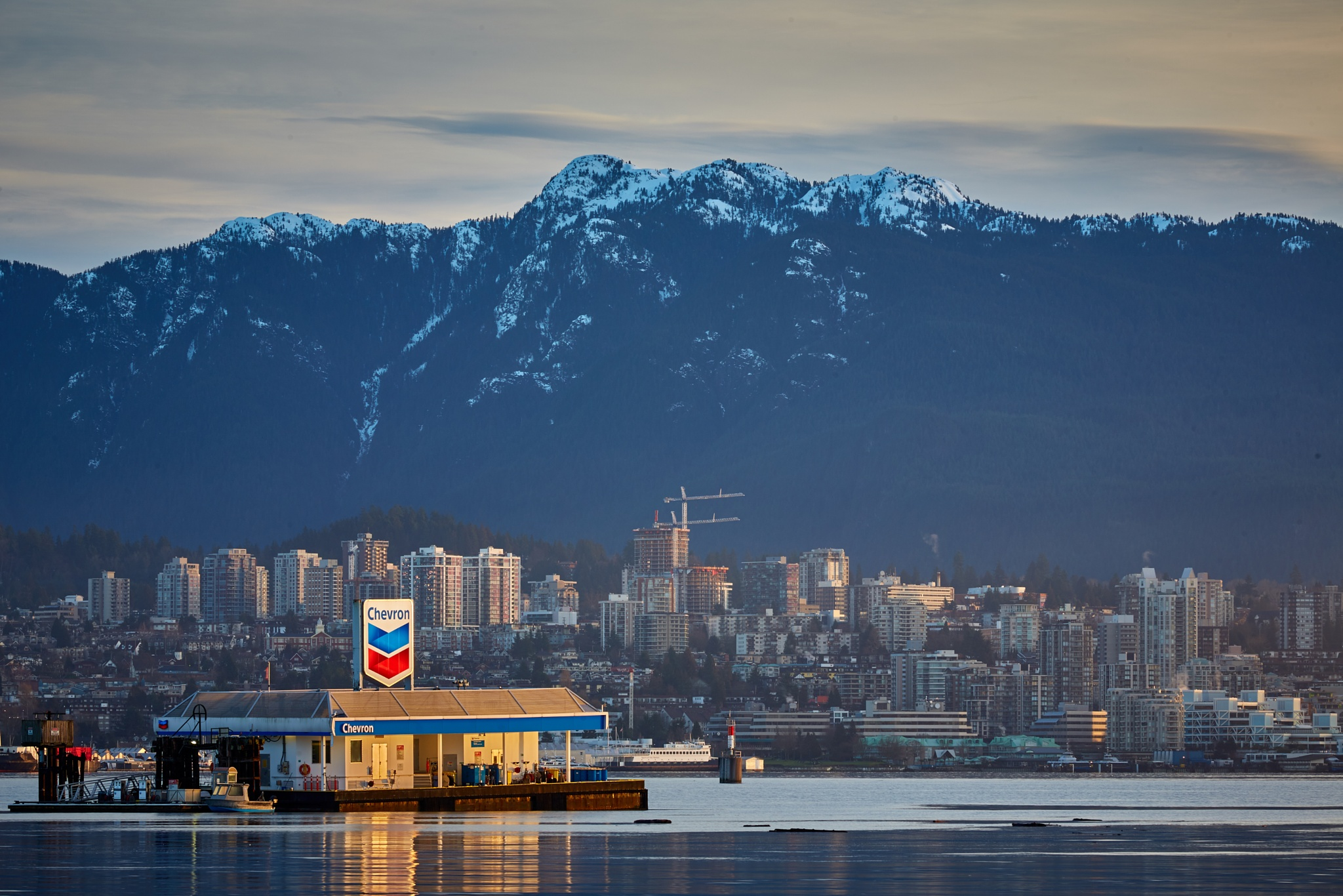 North Vancouver by Greg Mullaly