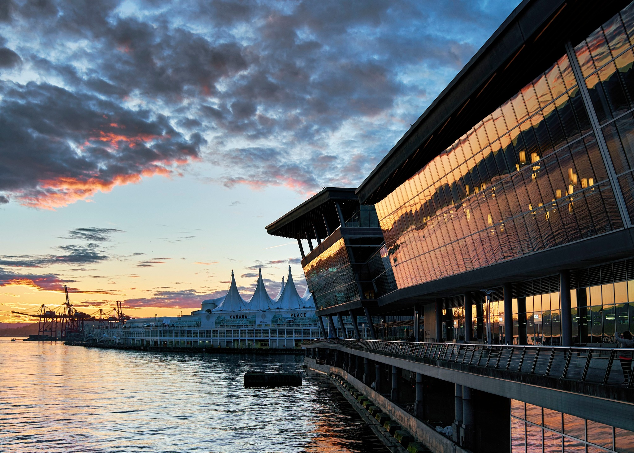 Vancouver Convention Centre by Greg Mullaly