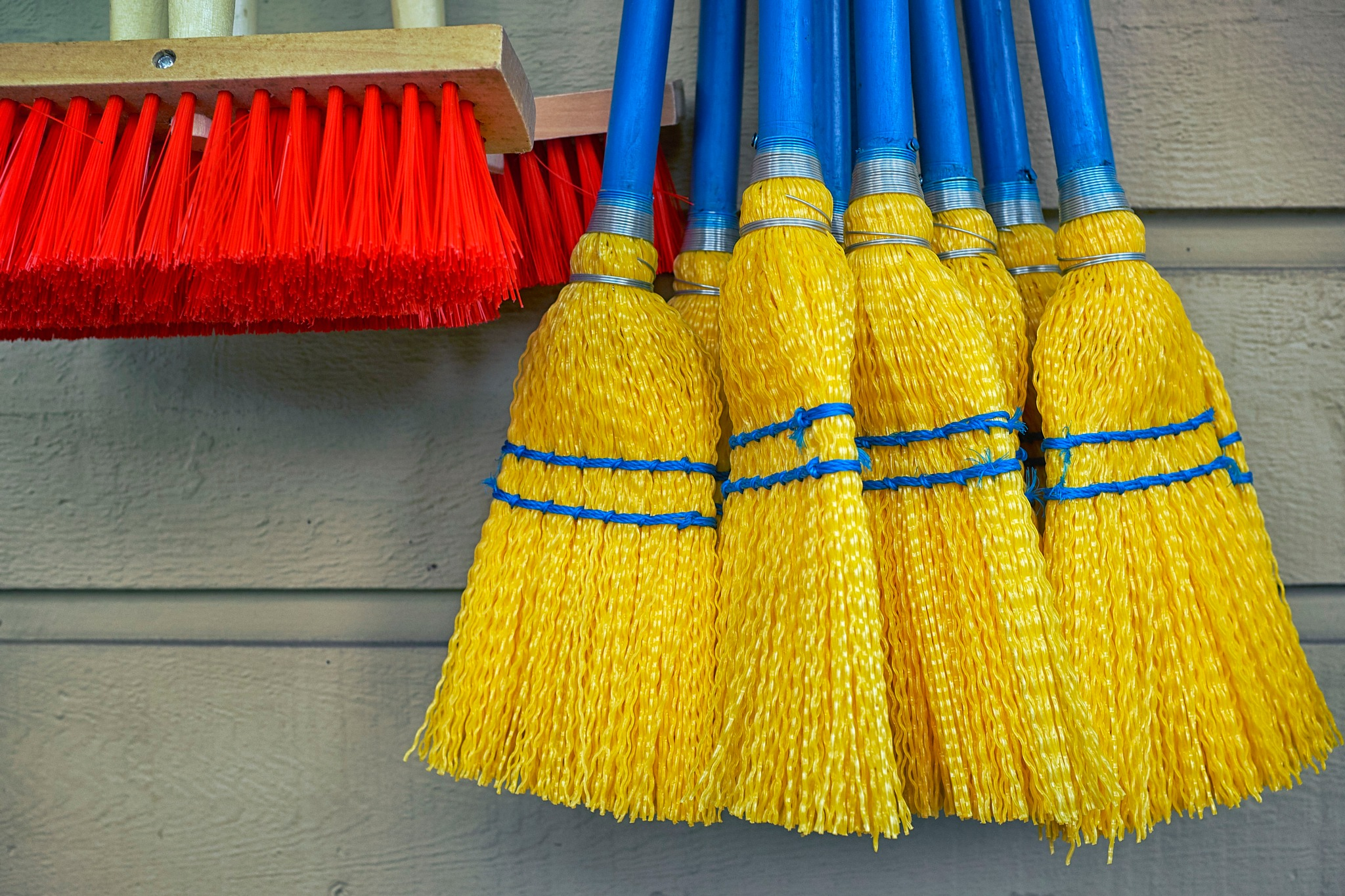 Children's brooms by Greg Mullaly