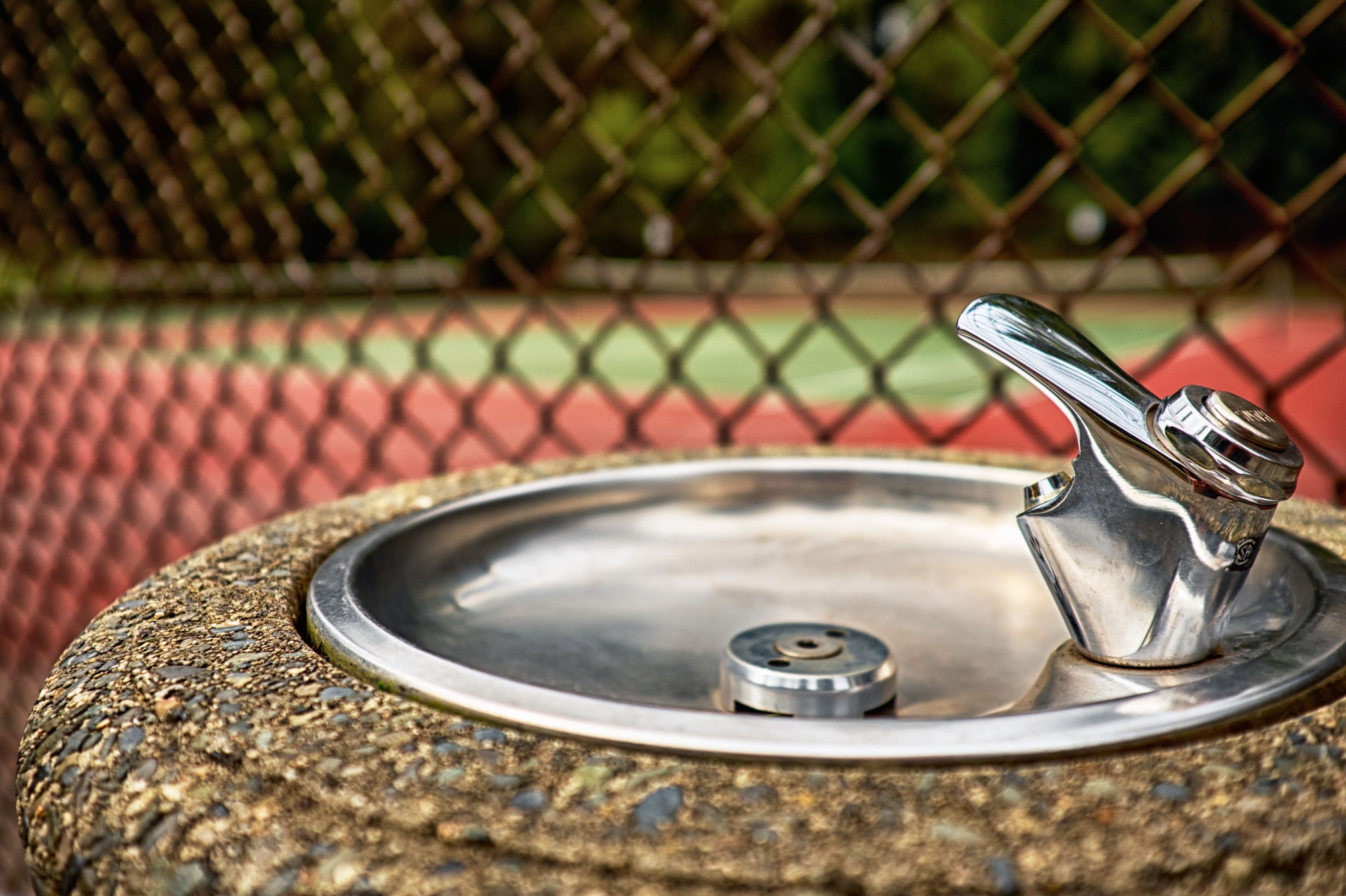 Water fountain by Greg Mullaly