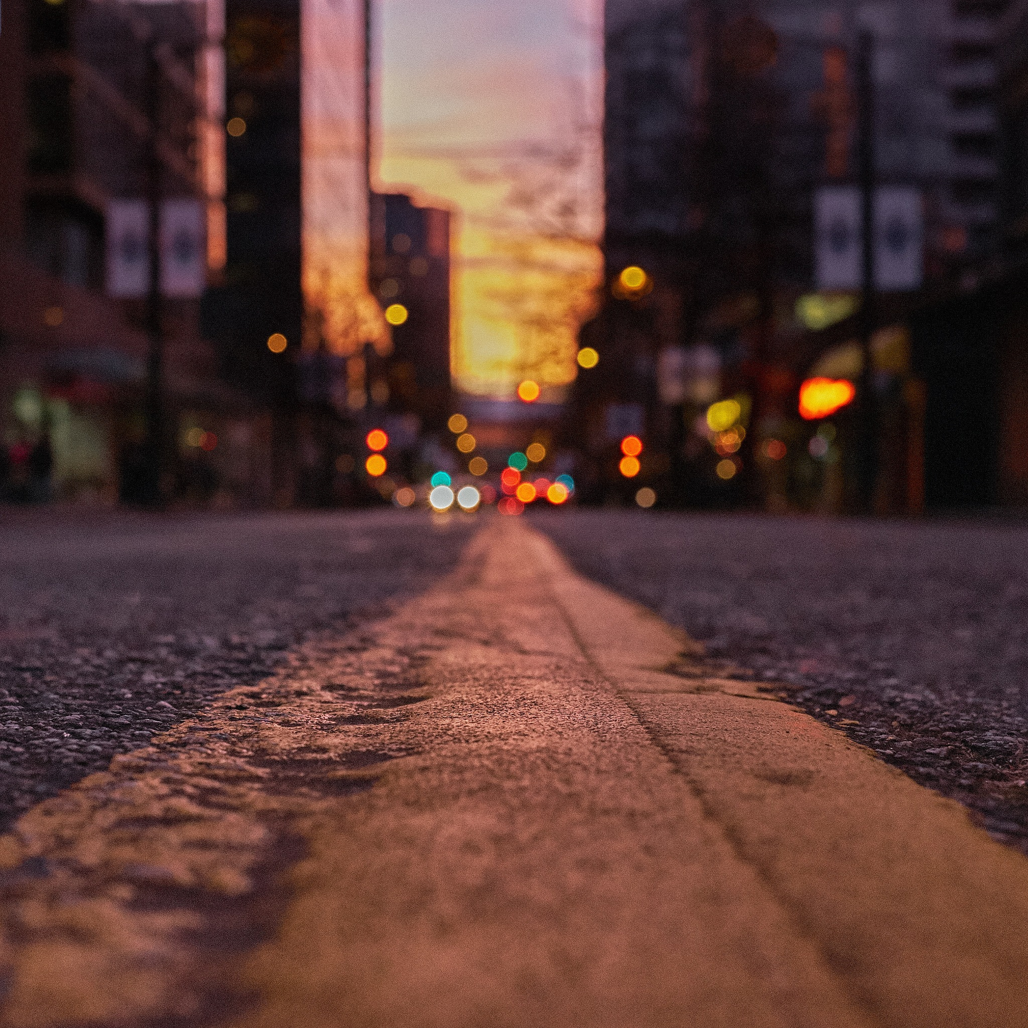 Robson Street by Greg Mullaly