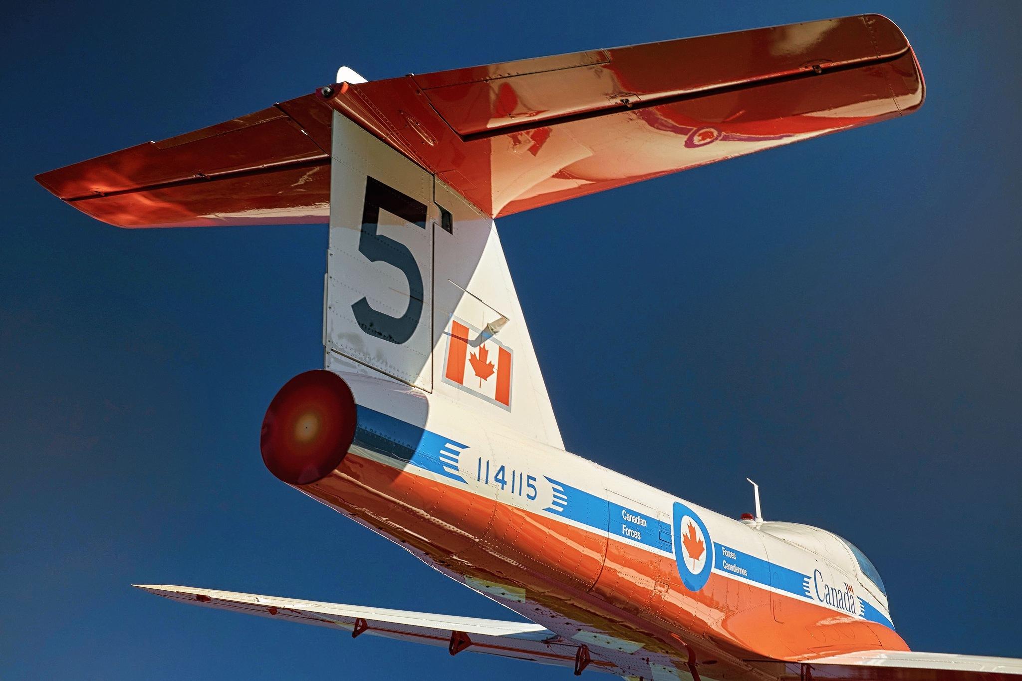 Snowbirds' Plane by Greg Mullaly