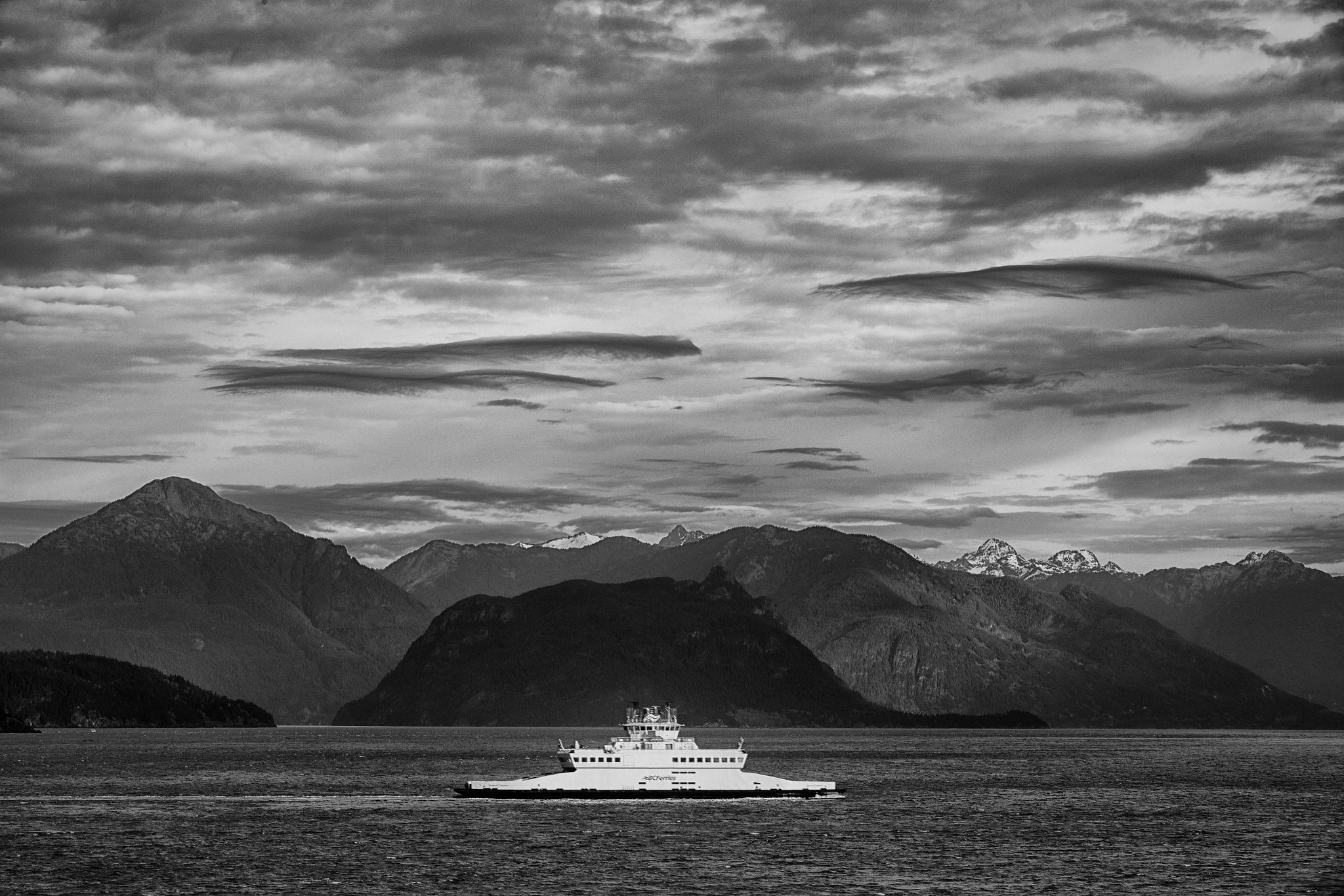 Bowen Island Ferry by Greg Mullaly