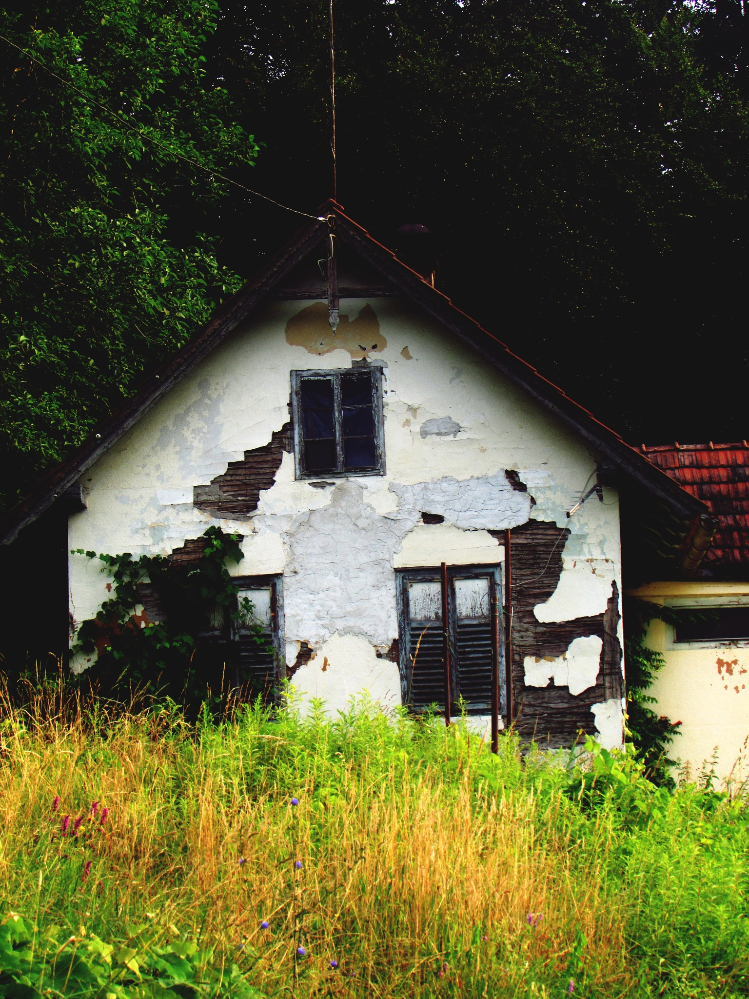 Abandoned house 3 by Ayla Photography