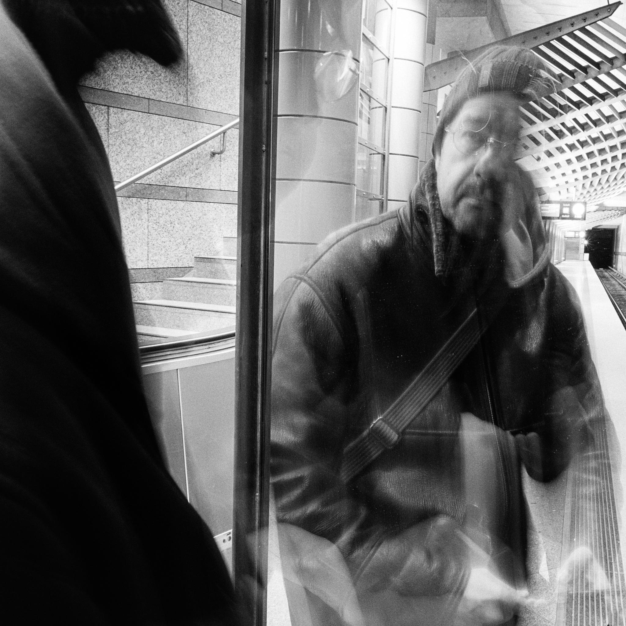 man in the mirror by Ulrich Gerndt