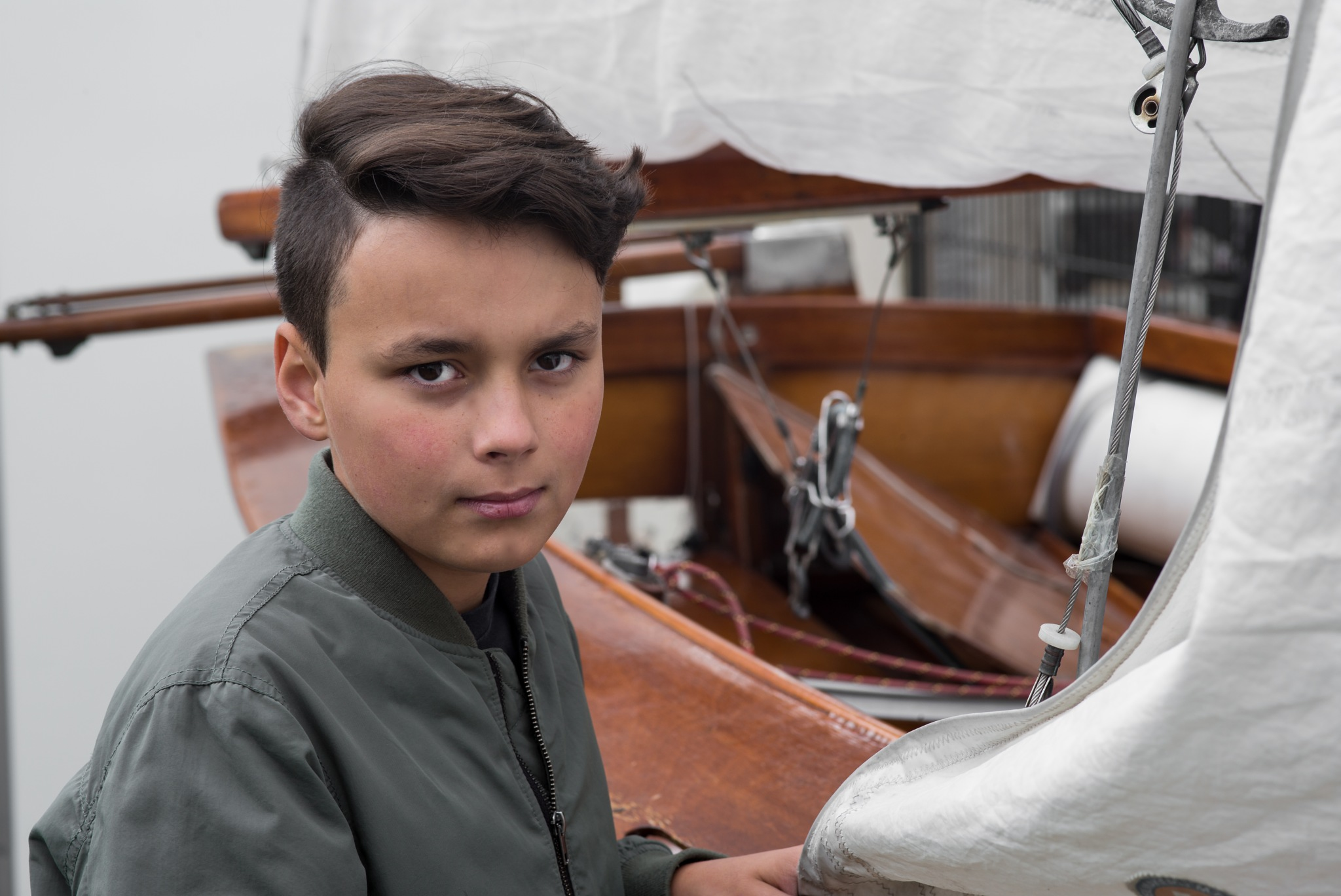young sailor by Ulrich Gerndt