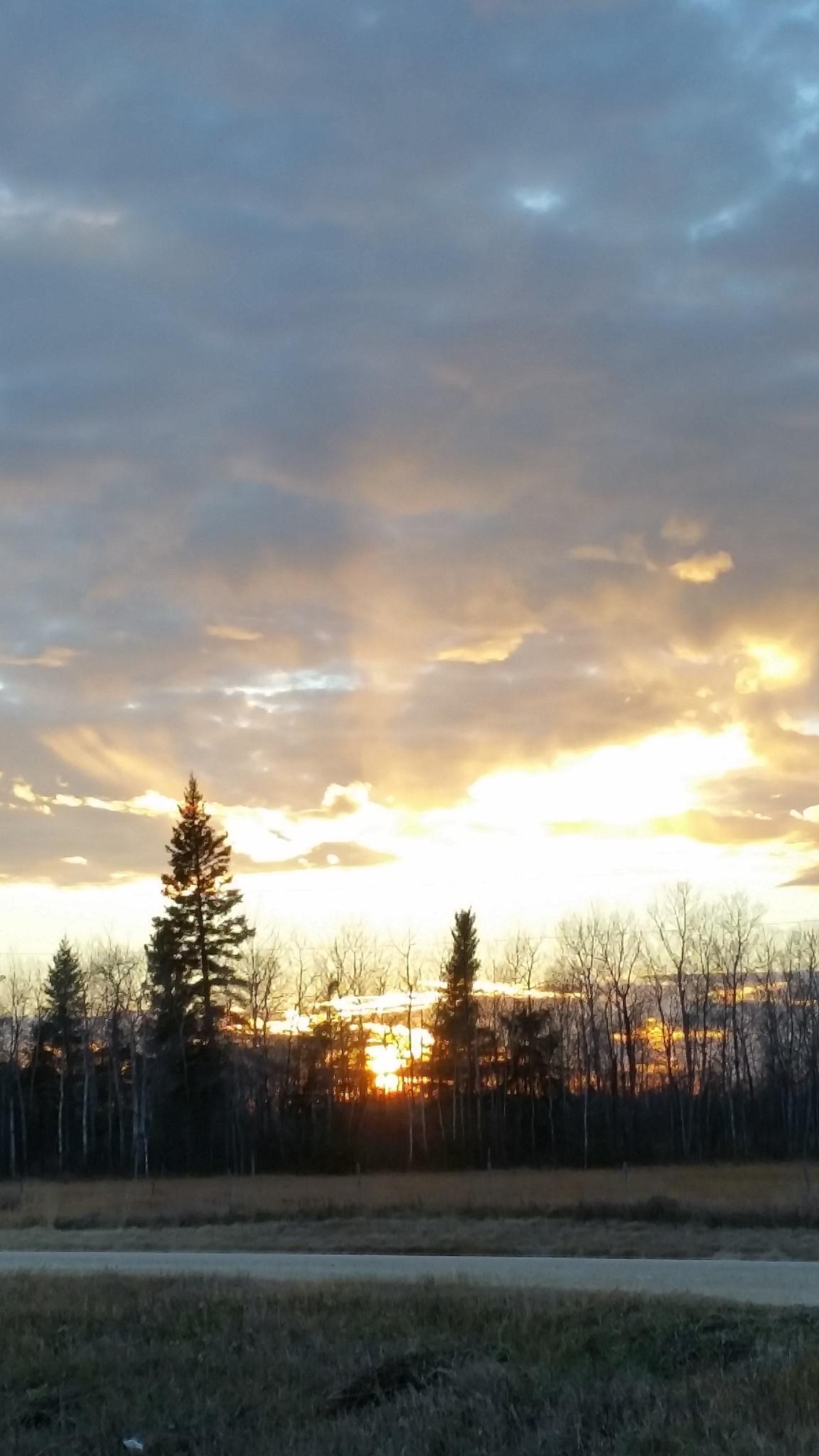 Sunset  by Lisa Desjarlais