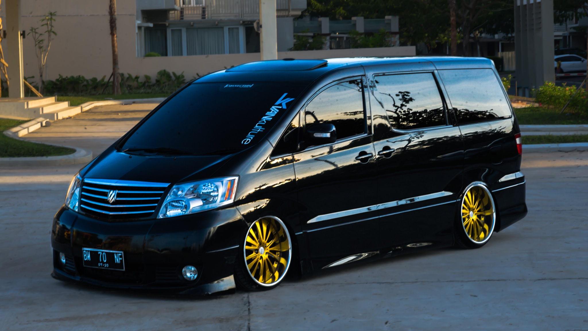 The Alphard's park by gettinlow