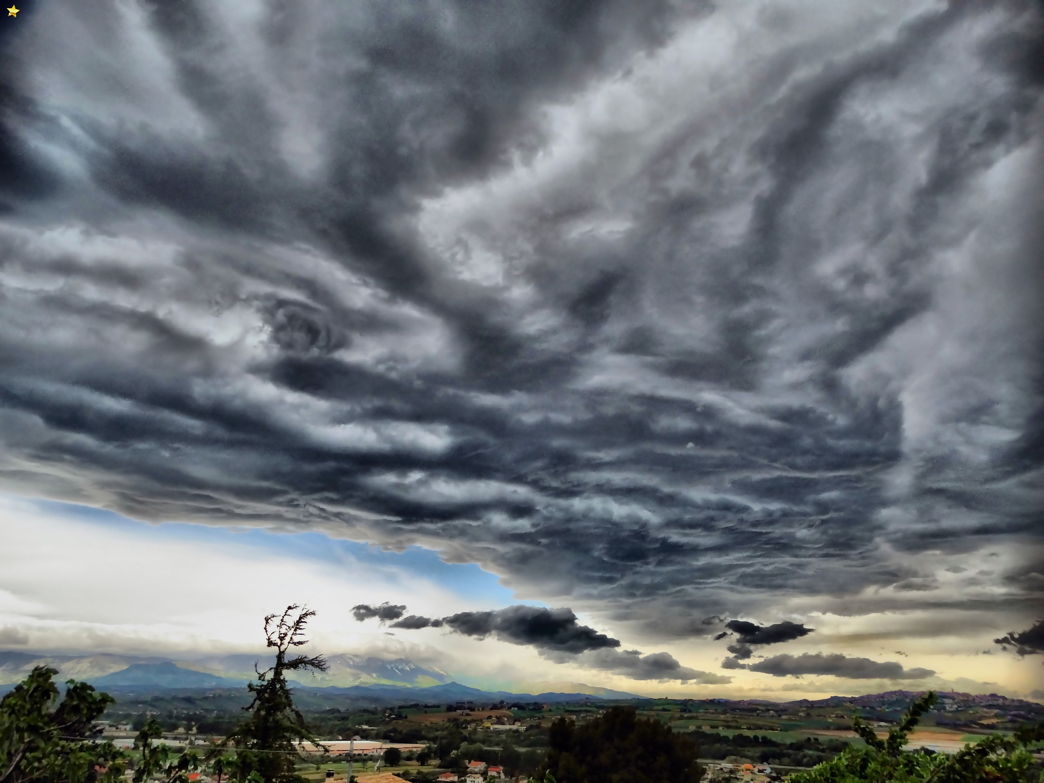 .Strange clouds on my valley by Mariano Arizzi Novelli