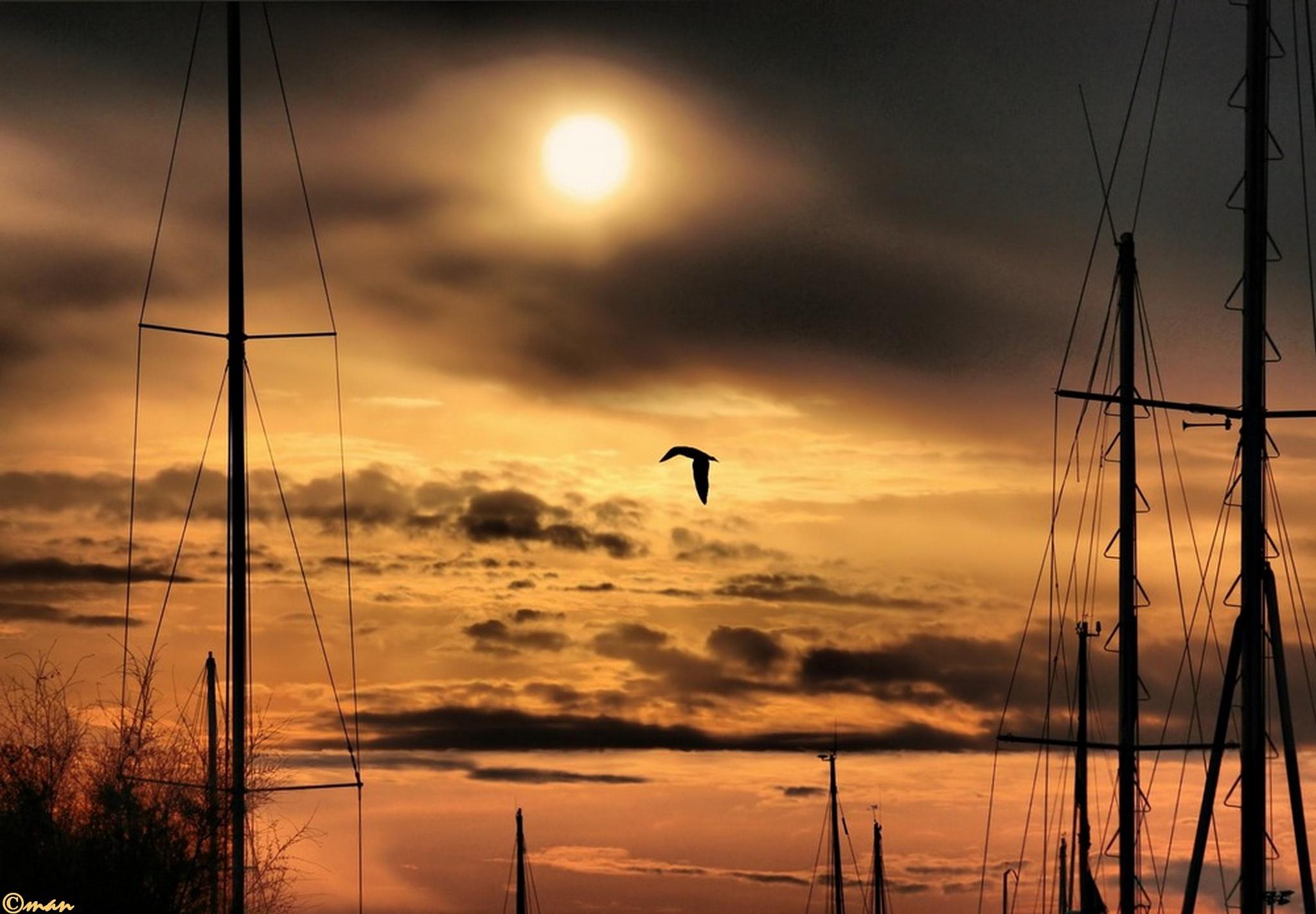 illusioni al tramonto by Mariano Arizzi Novelli
