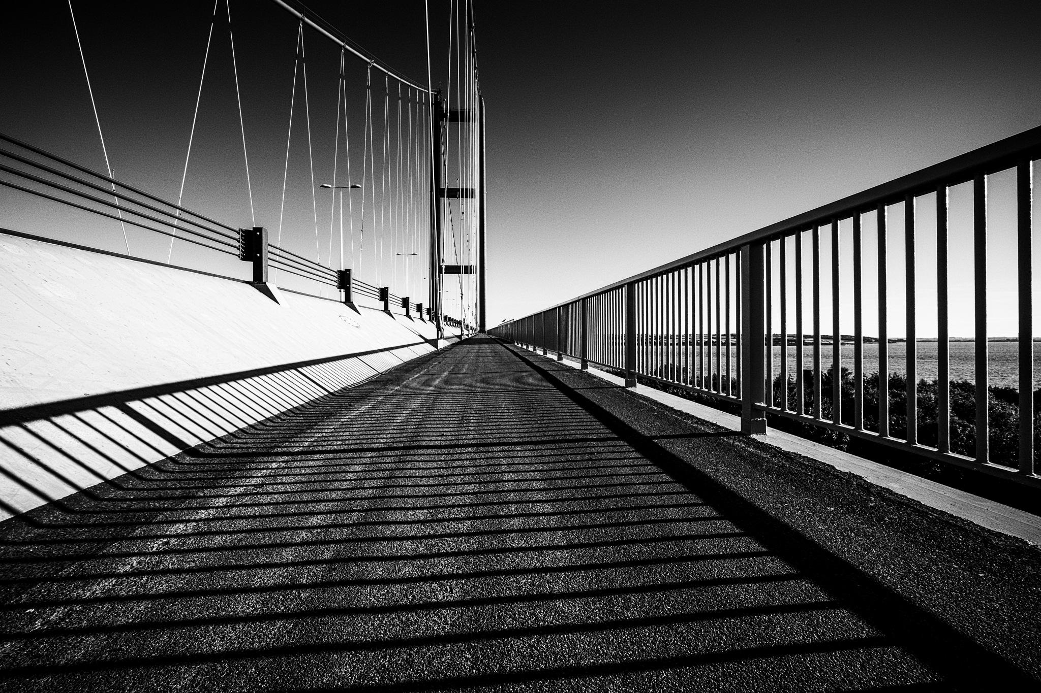 The Humber Bridge  by Chris Bird