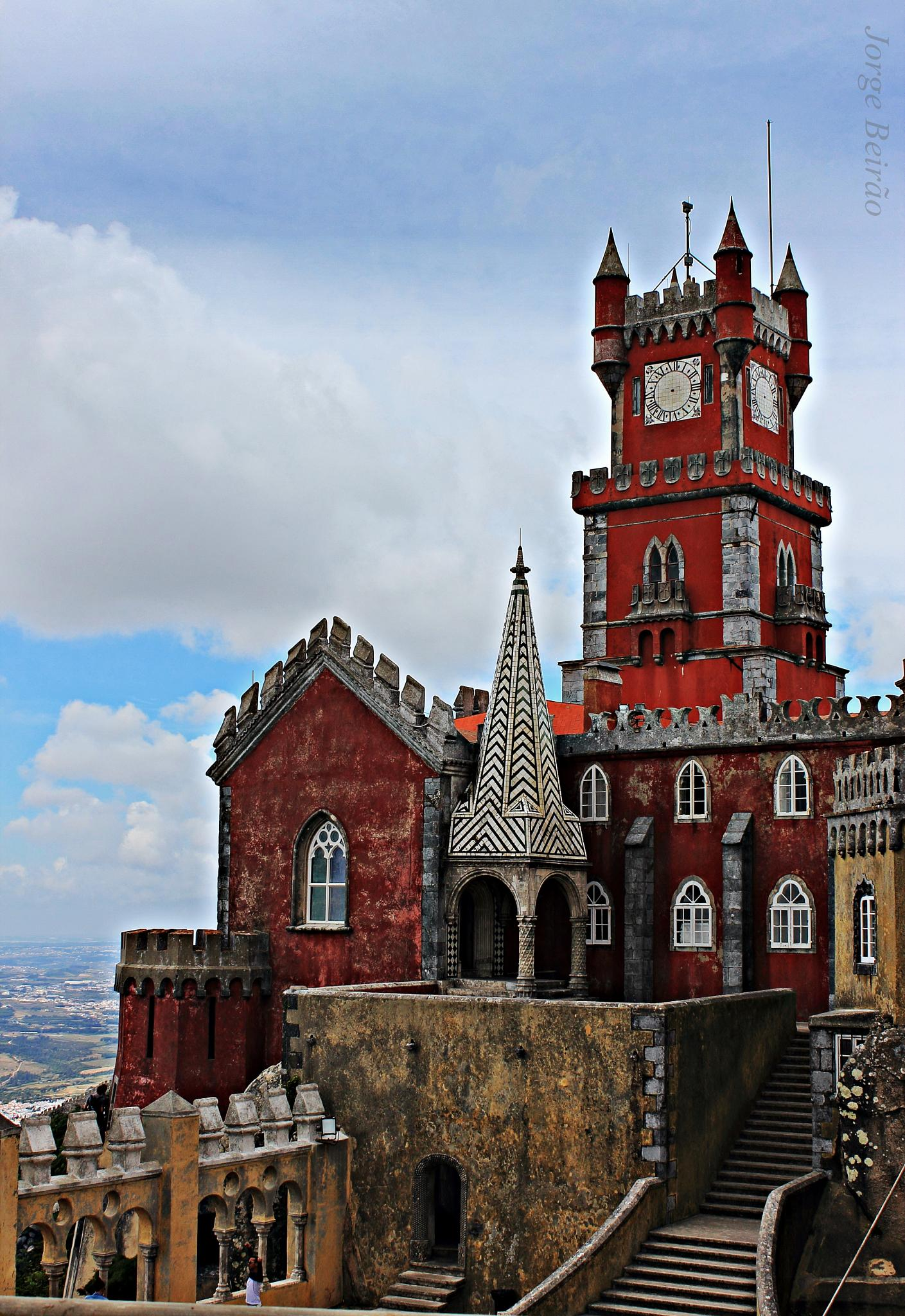 Photo in Architecture #pena palace #sintra #convent #chapel #pena #palácio #portugal